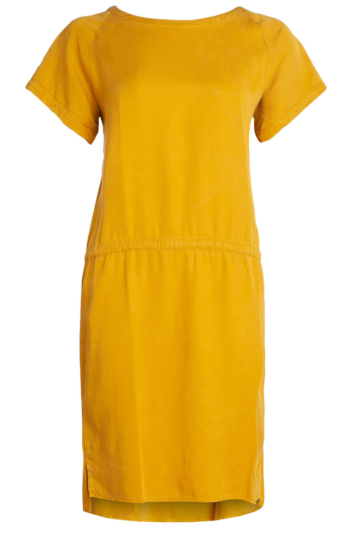 By-Bar Dames Silly tencel jurk geel