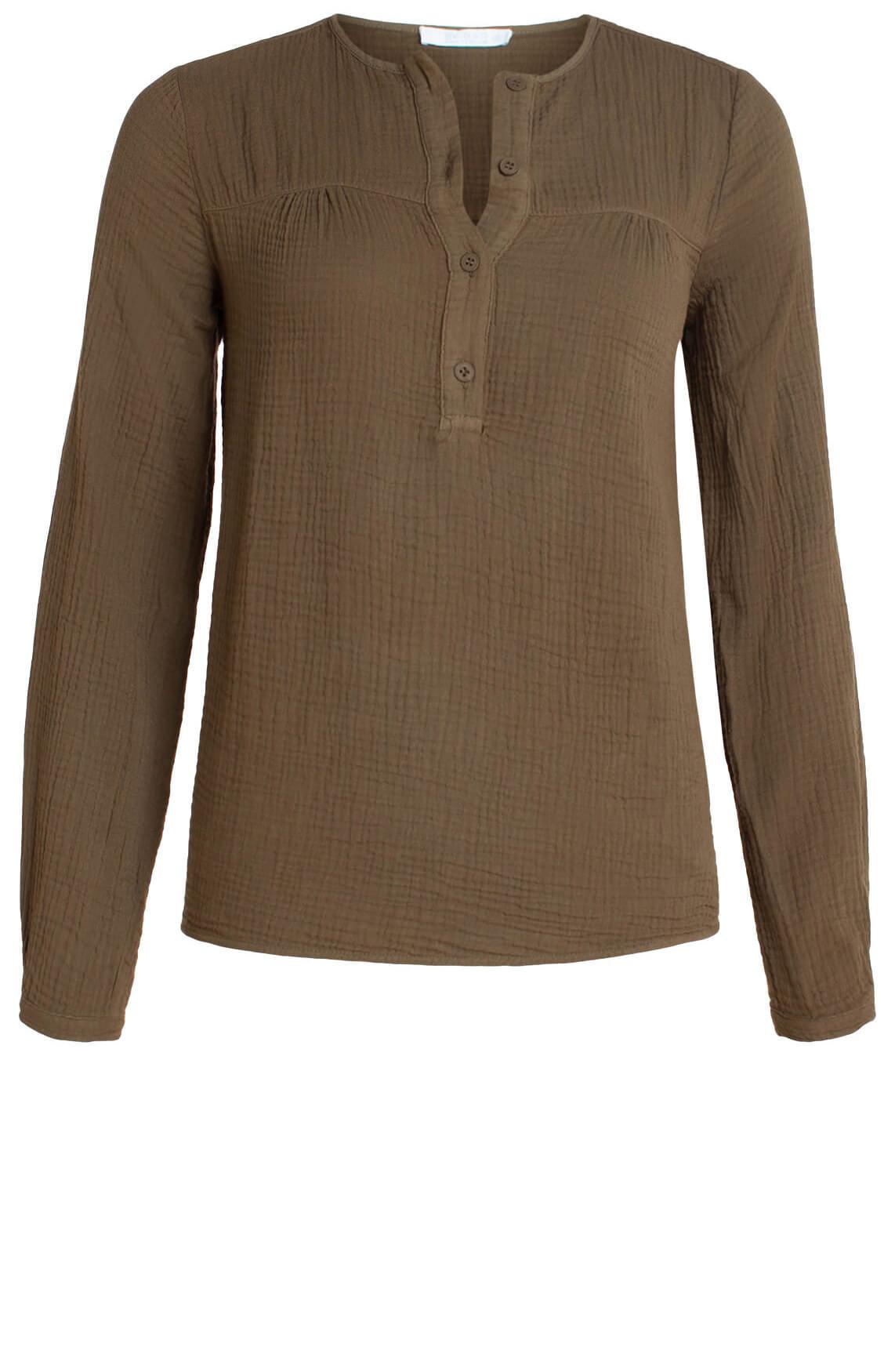 By-Bar Dames Doppia blouse groen