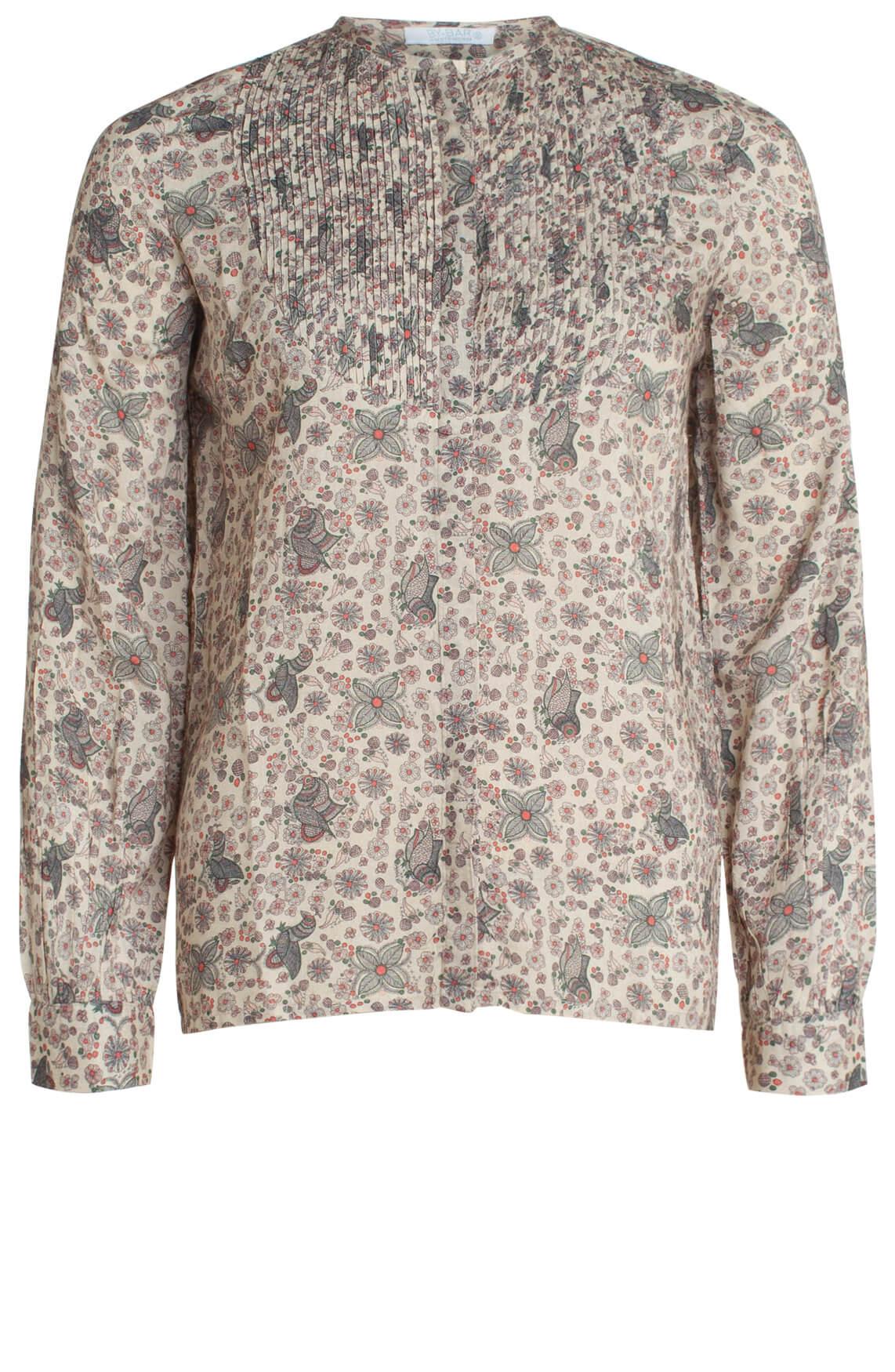 By-Bar Dames Milou gebloemde blouse roze