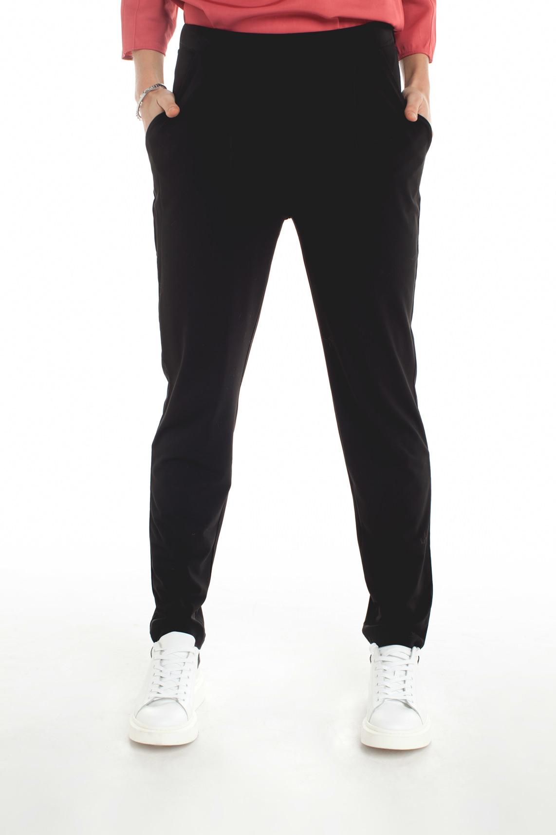 La Fée Maraboutée Dames Cropped broek zwart