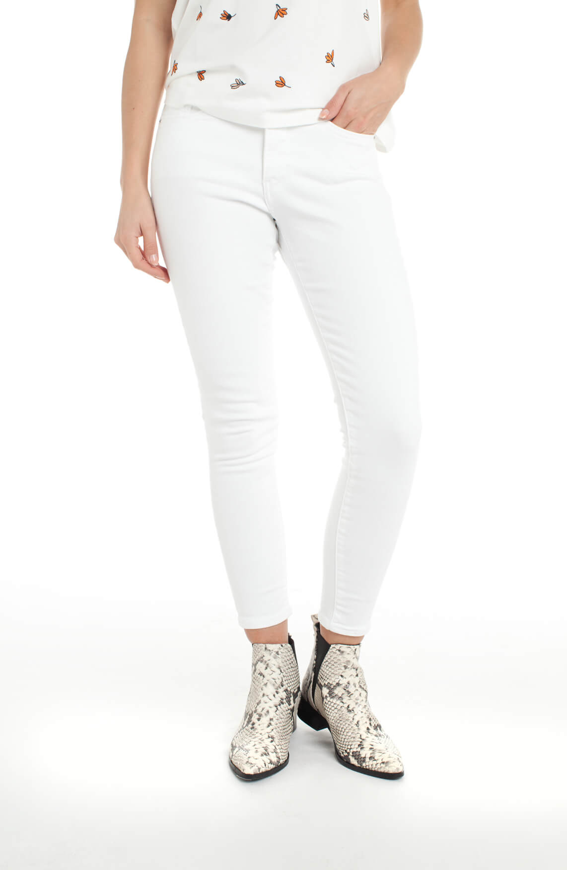 Levi s Dames 311 shaping skinny jeans wit