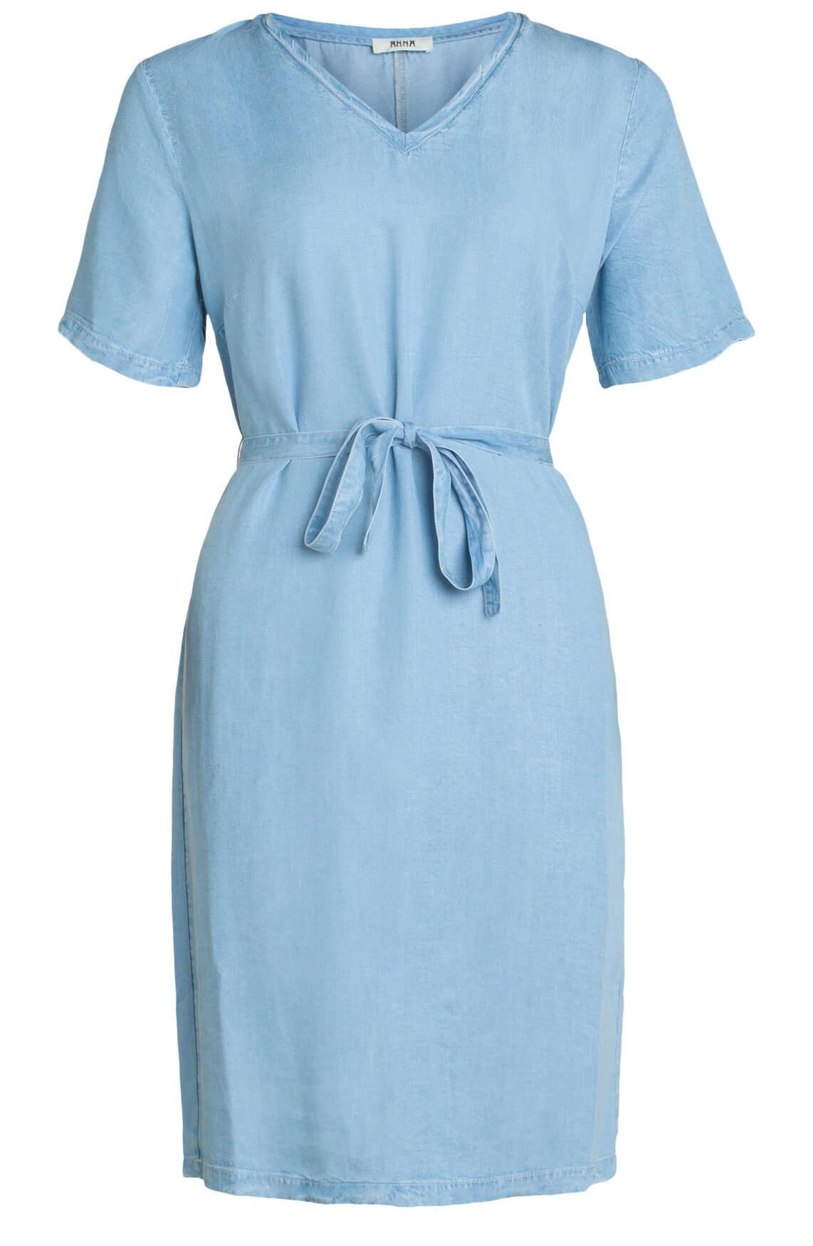 Anna Dames Perfect dress Blauw