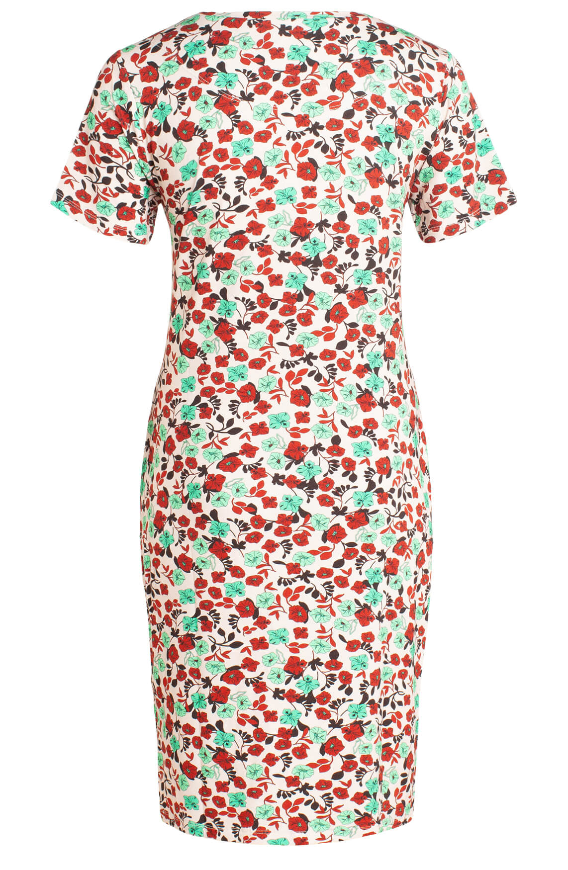 Anna Dames Gebloemde jurk roze