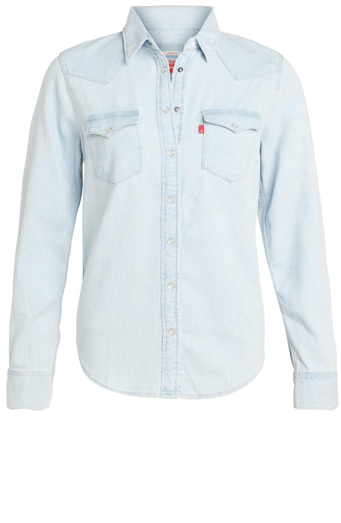 Levi s Dames Denim blouse Blauw