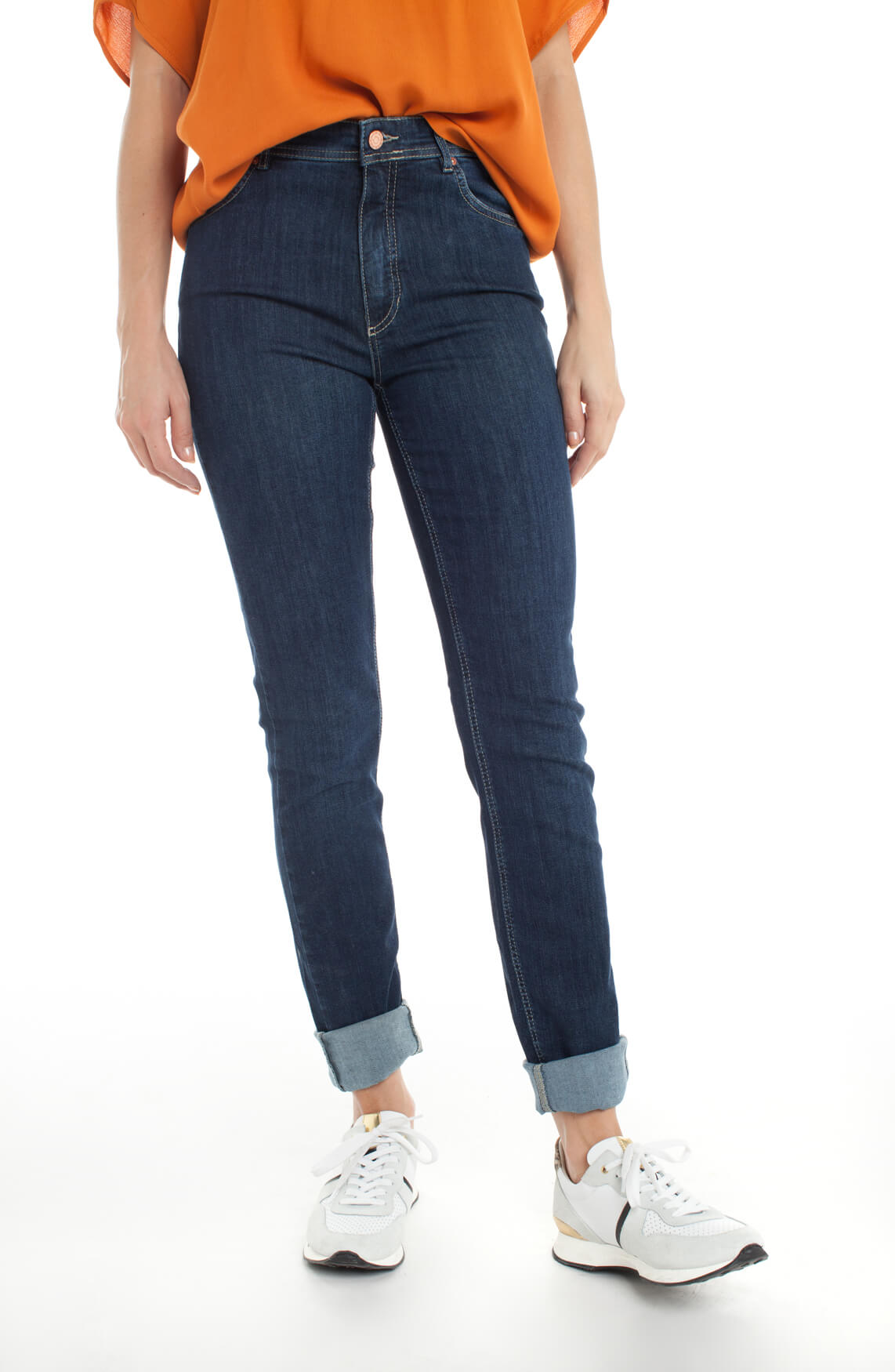 Rosner Dames Audrey bodyshaping jeans Blauw