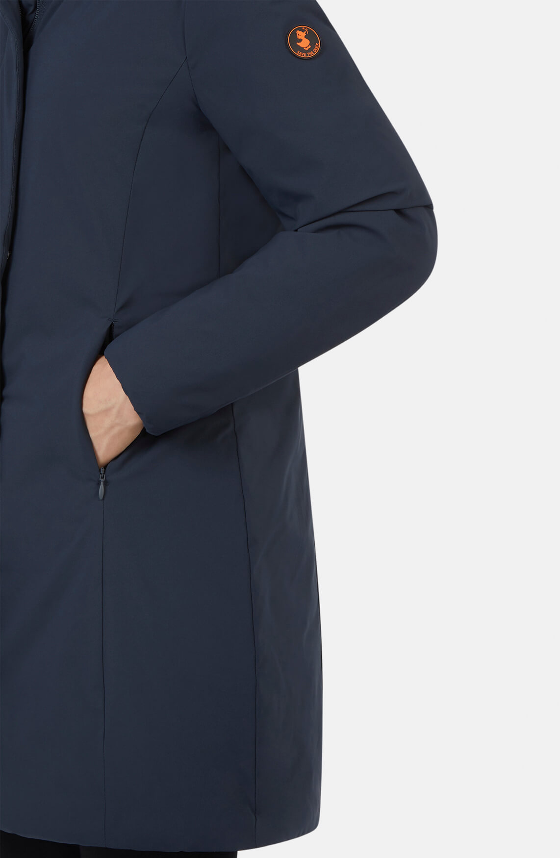 Save the Duck Dames Parka Blauw