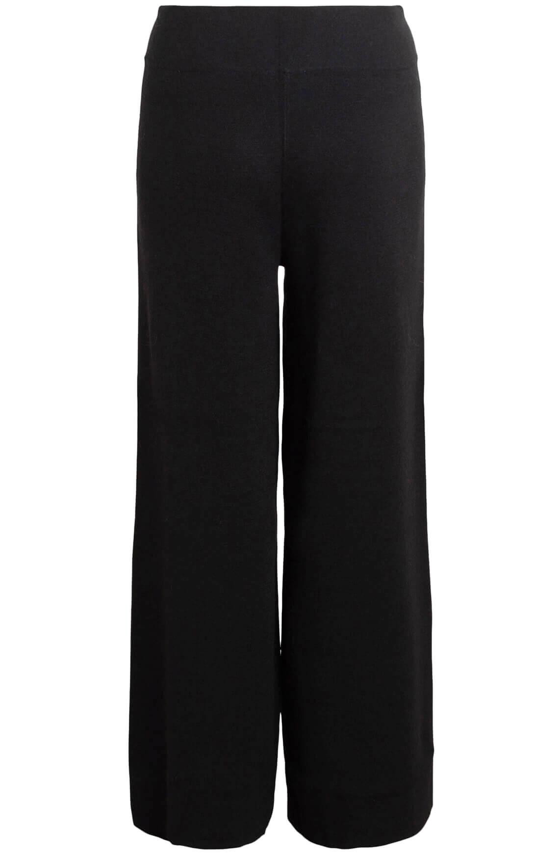 Anna Dames Wijde broek zwart