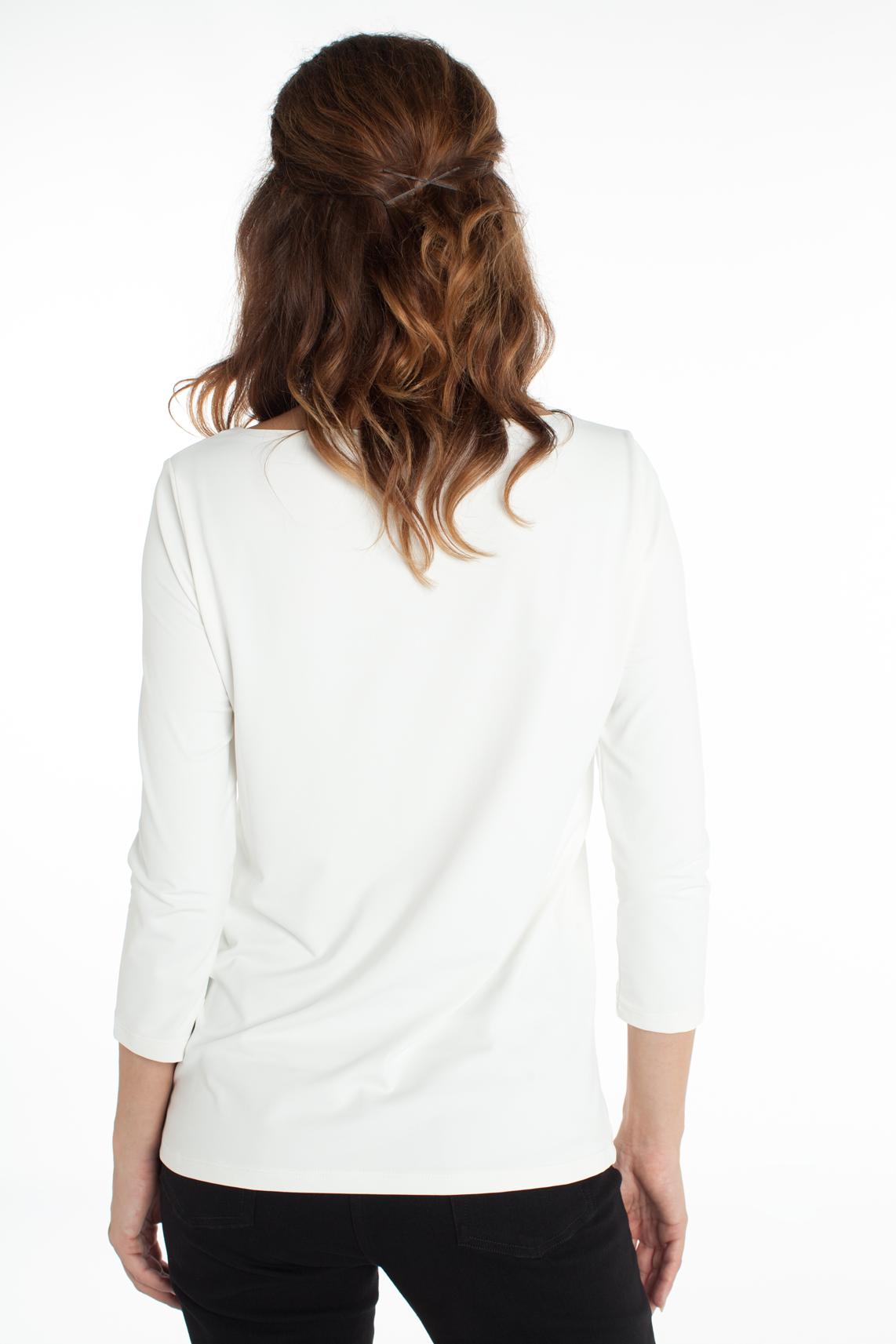 Anna Dames Seamless shirt wit