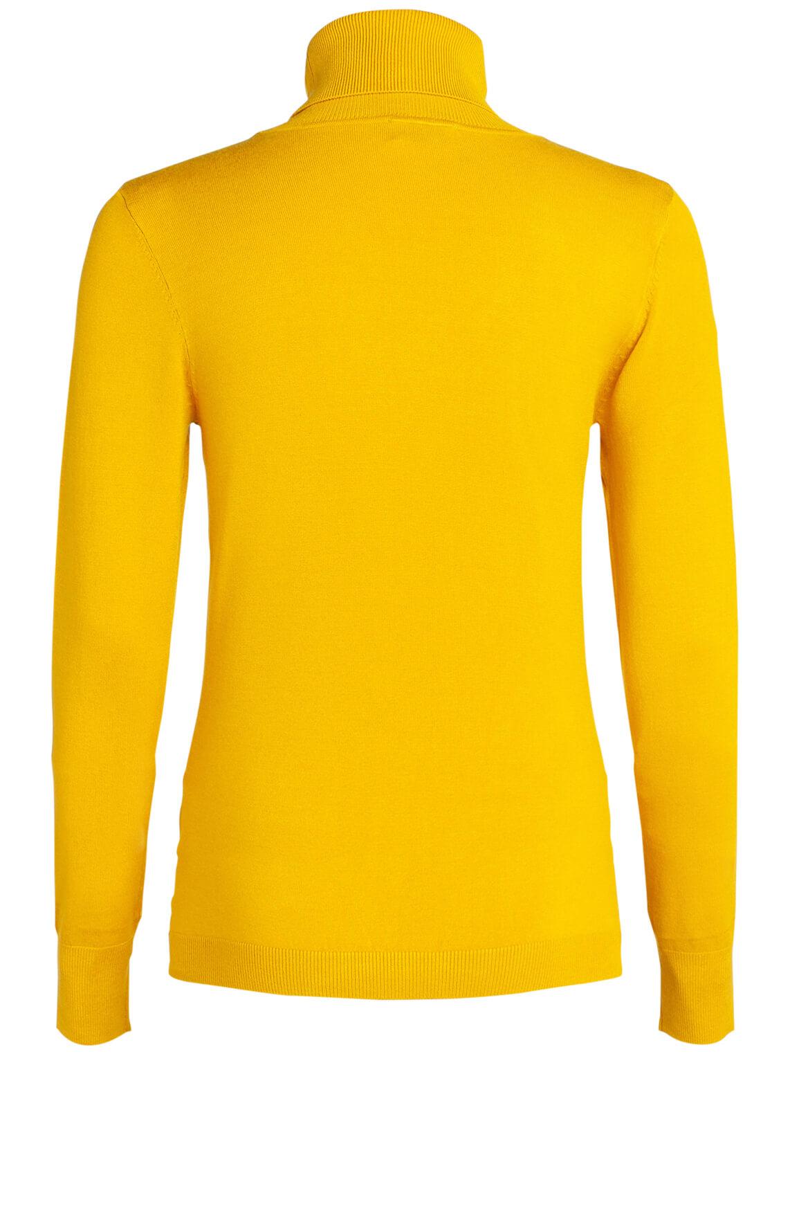 Anna Dames Pullover met col geel