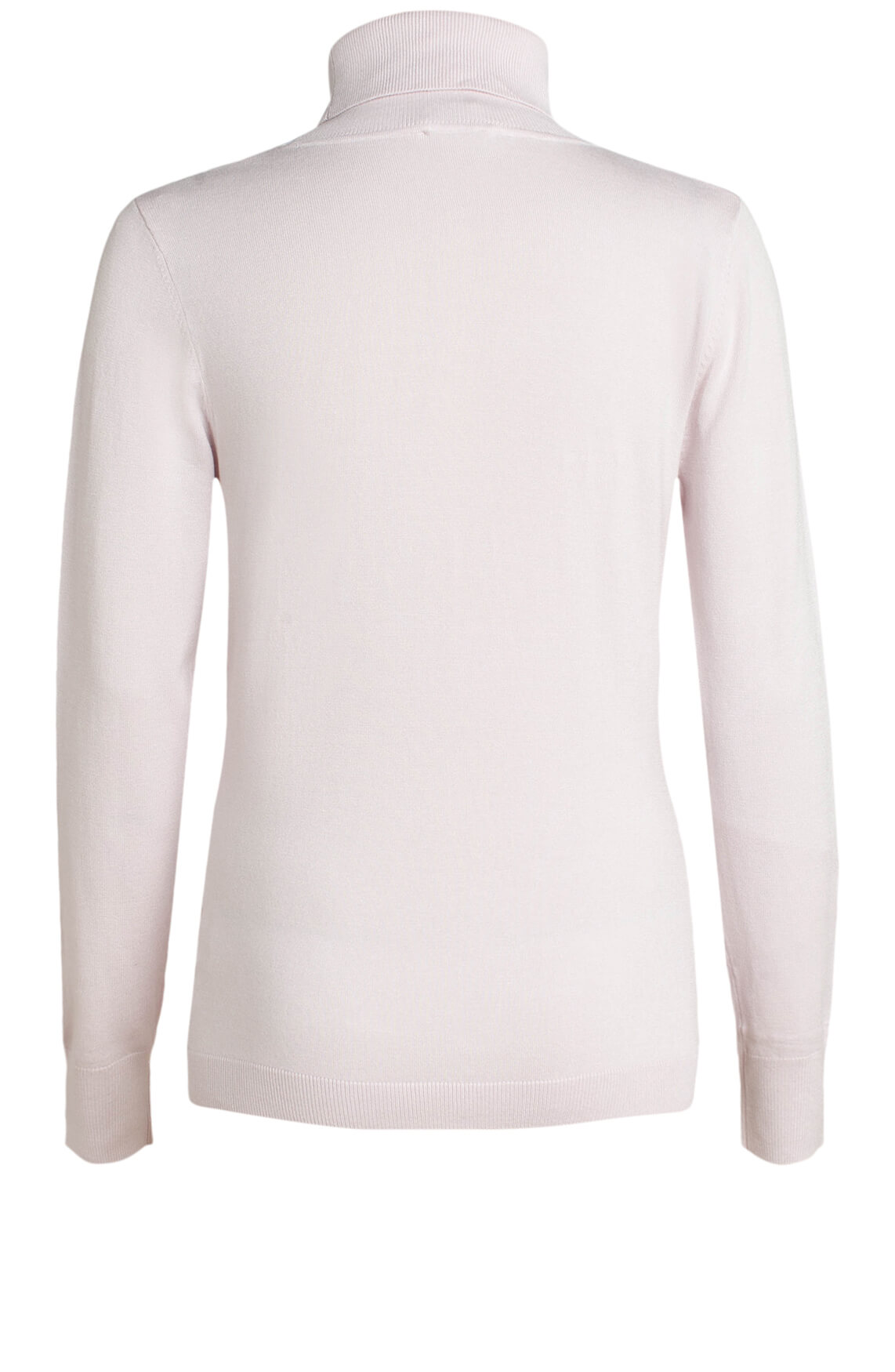 Anna Dames Pullover met col roze
