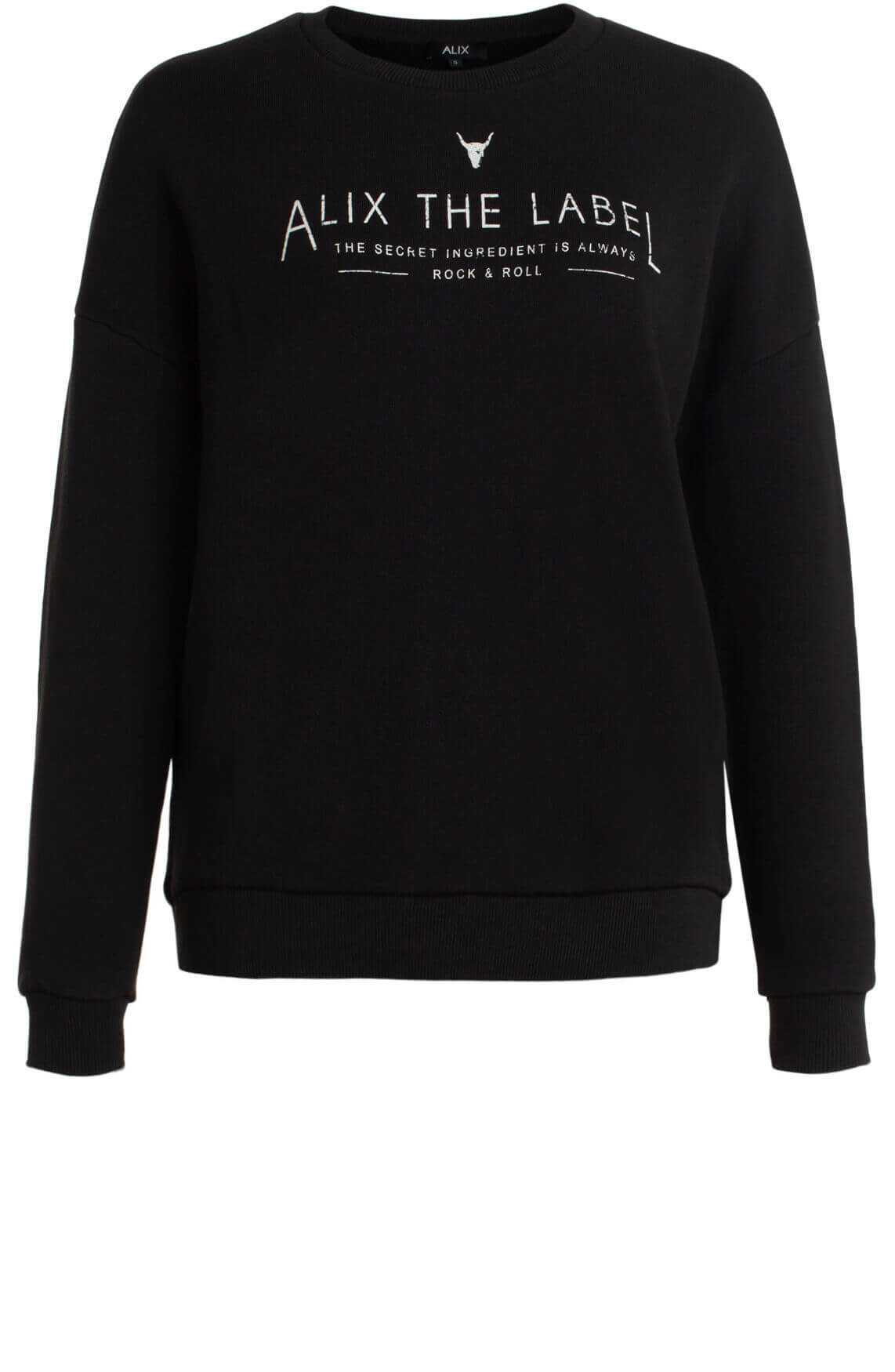 Alix The Label Dames Alix sweater zwart