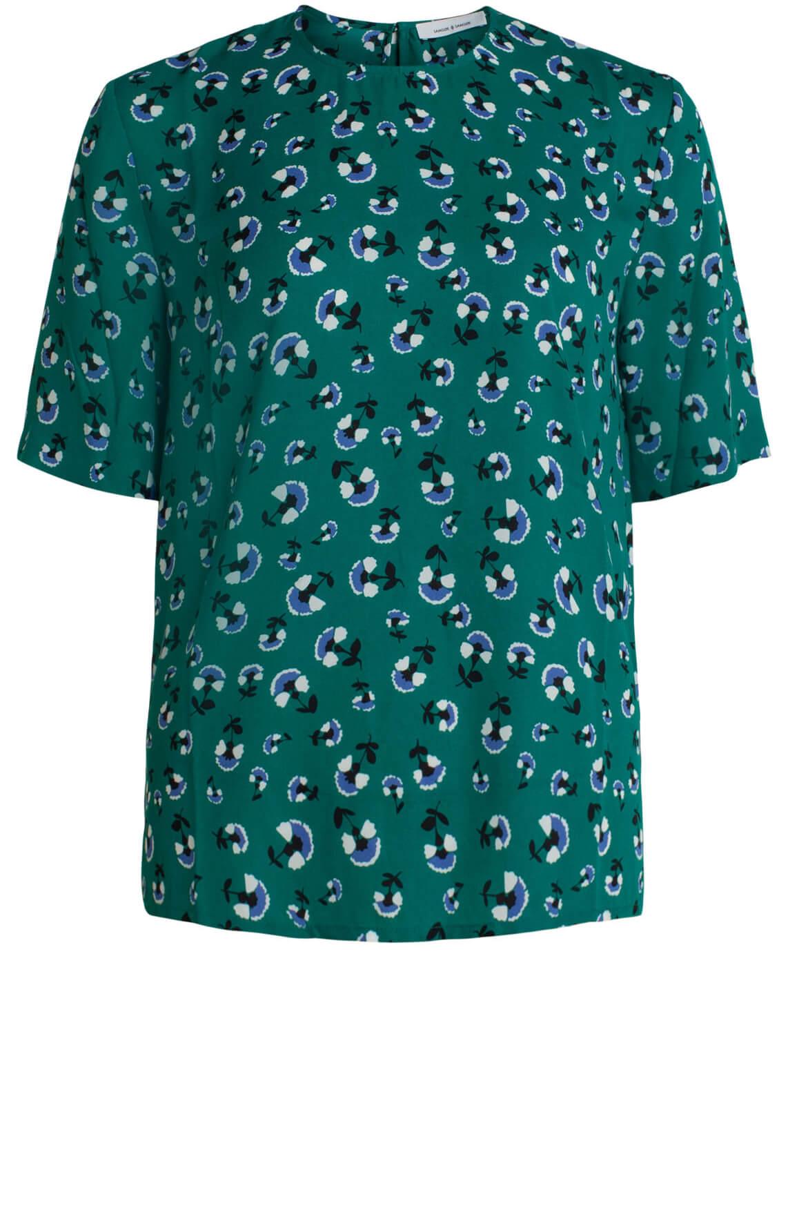 Samsoe Samsoe Dames Amabel blouse groen