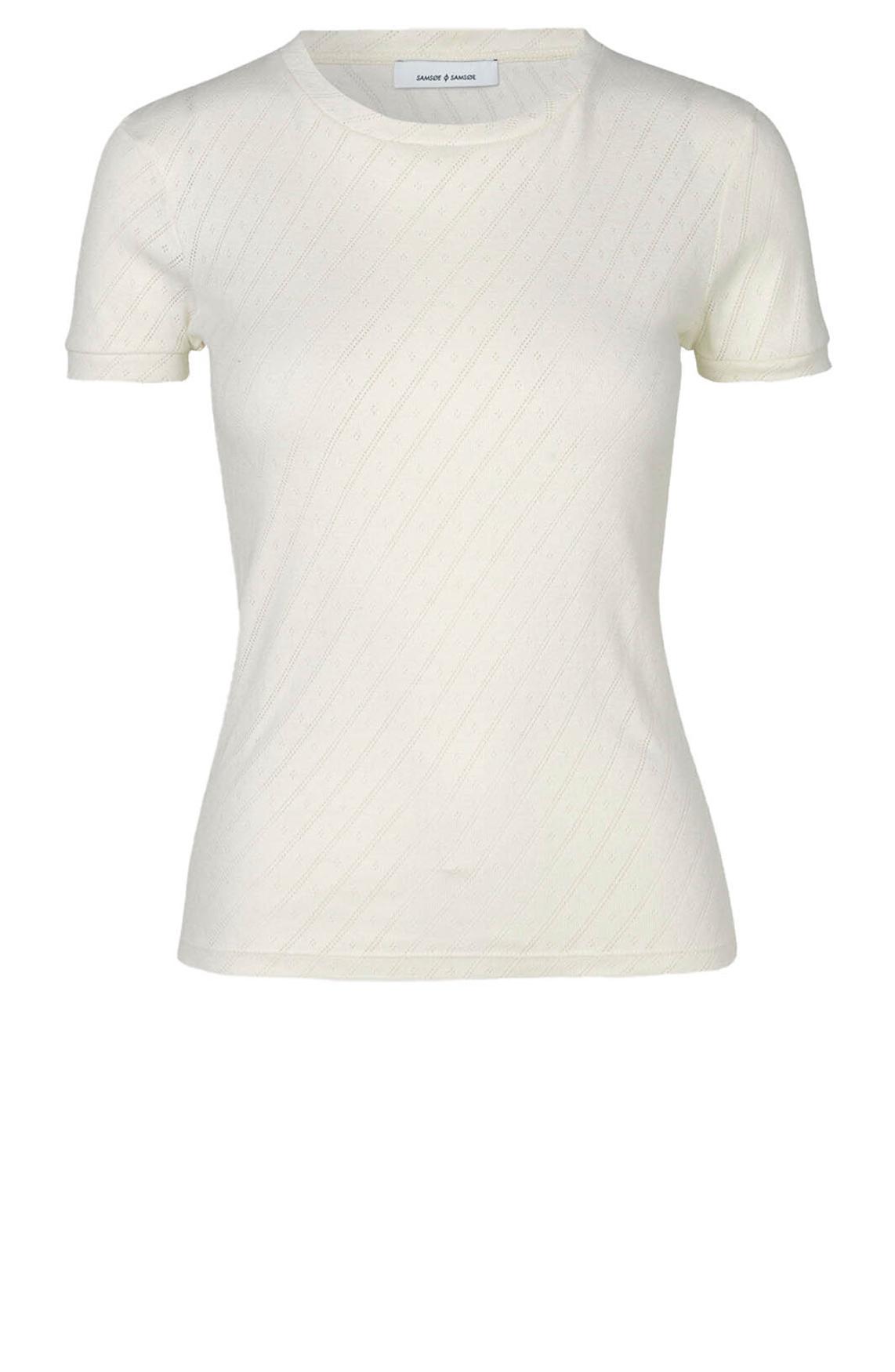 Samsoe Samsoe Dames Cotula shirt wit