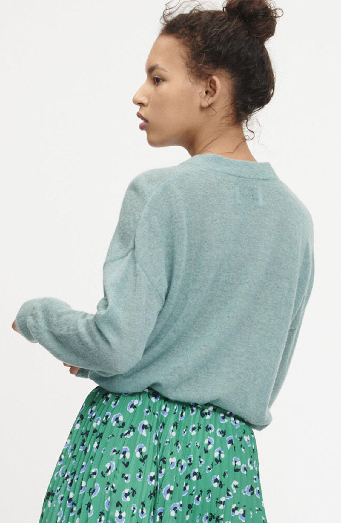 Samsoe Samsoe Dames Fontana pullover groen
