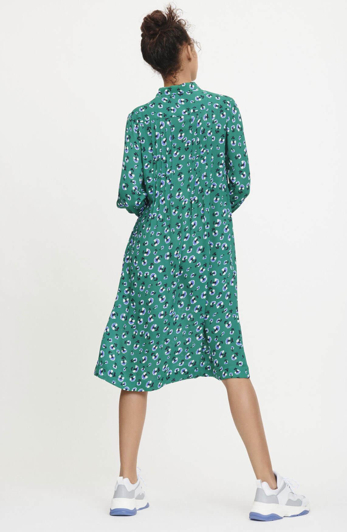 Samsoe Samsoe Dames Musa jurk groen
