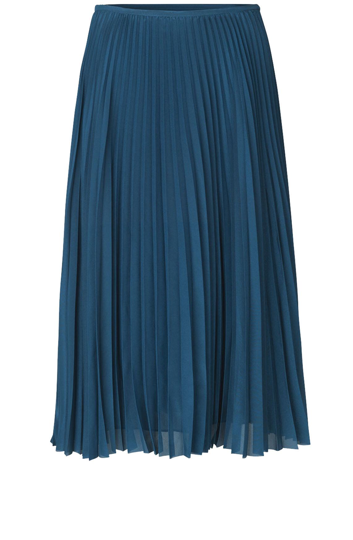 Samsoe Samsoe Dames Juliette plissé rok Blauw