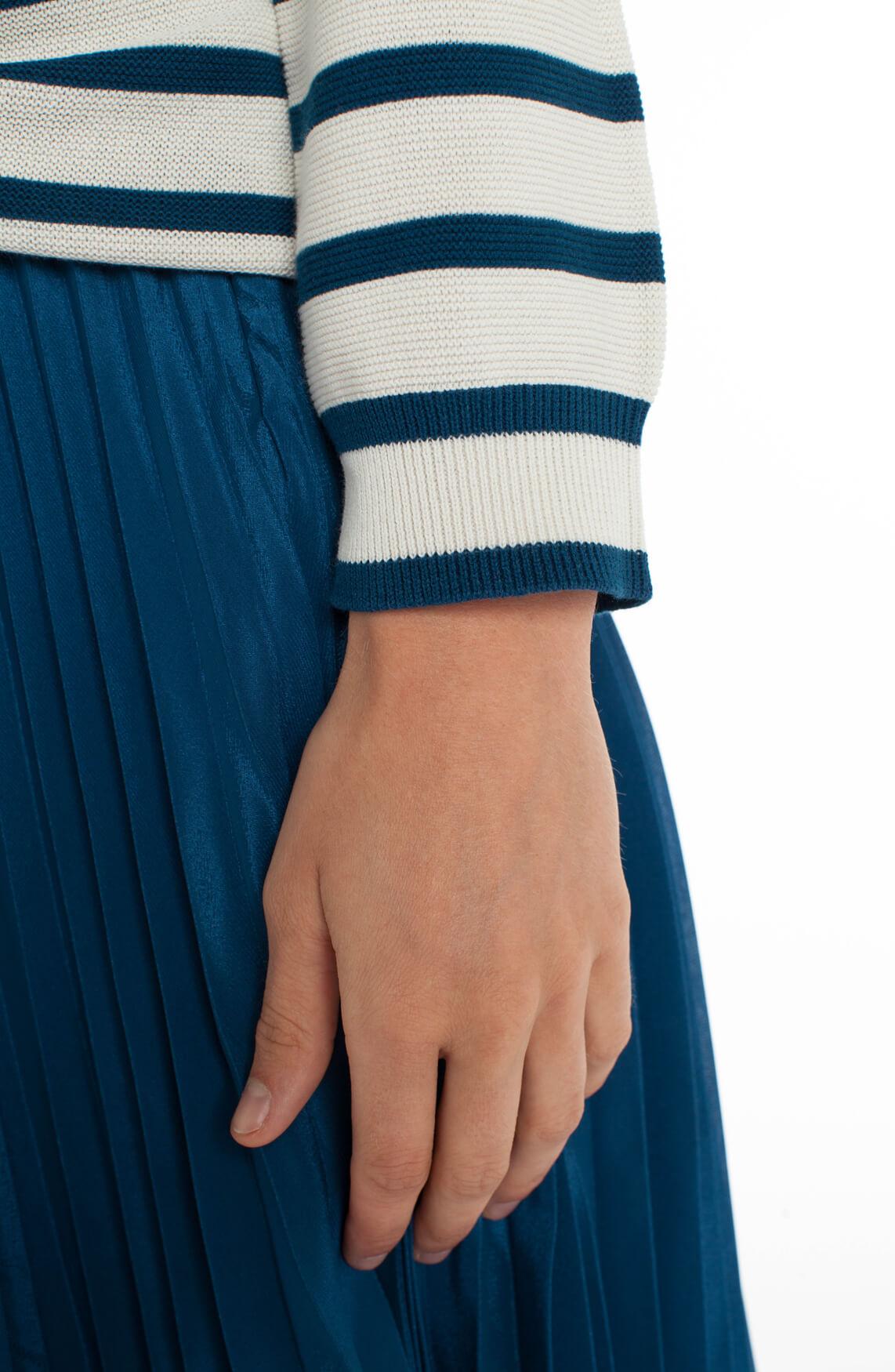Samsoe Samsoe Dames Zande gestreepte pullover Blauw