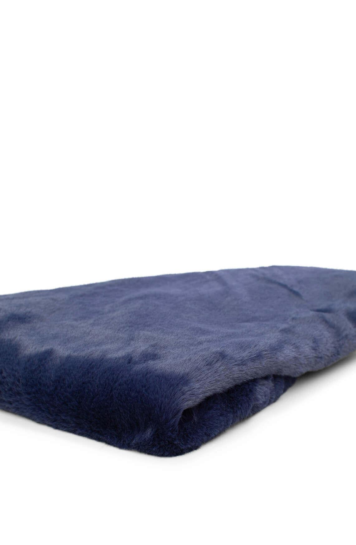Codello Dames Fake fur colshawl Blauw