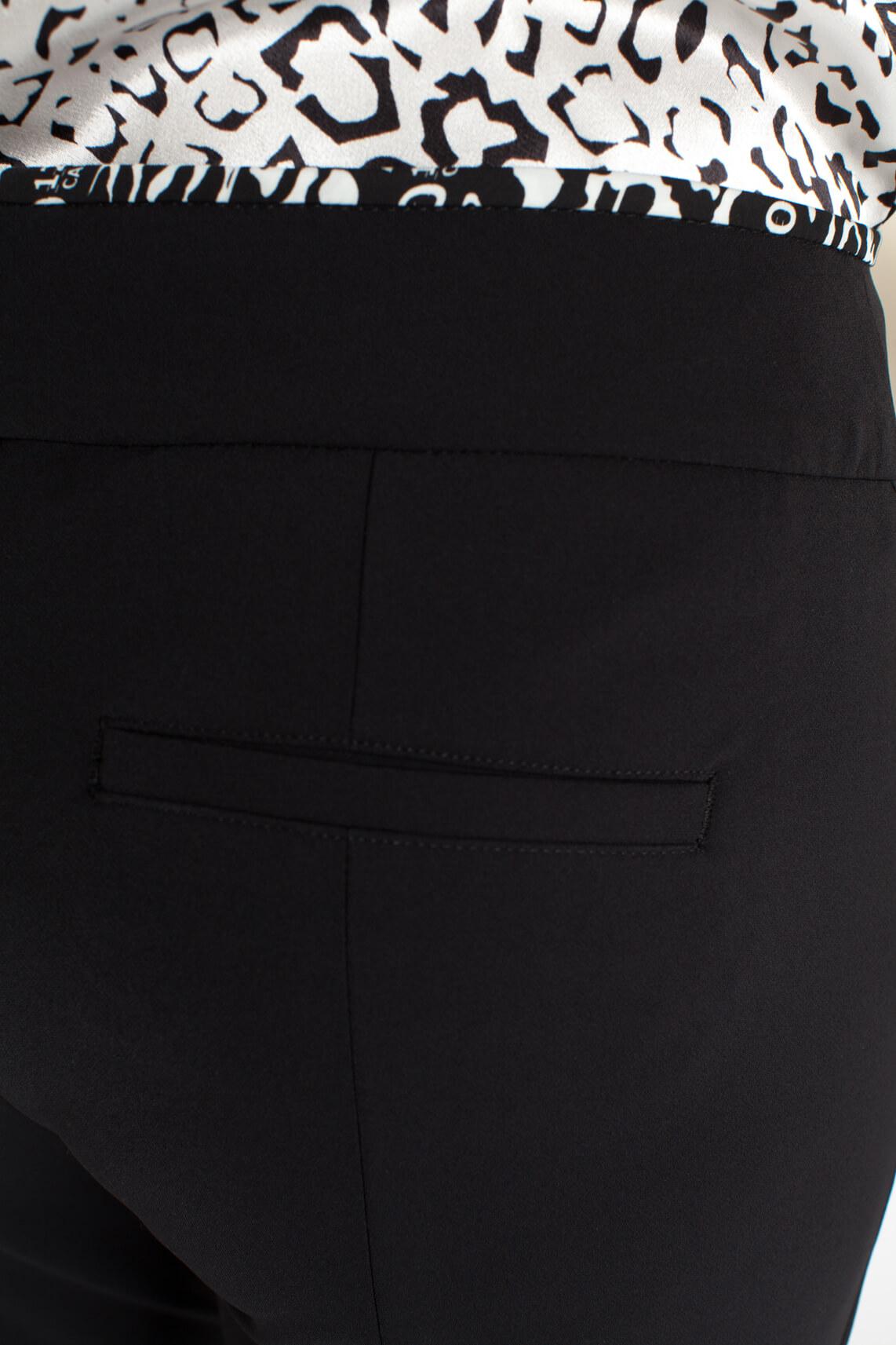 Cambio Dames Rosa pantalon zwart