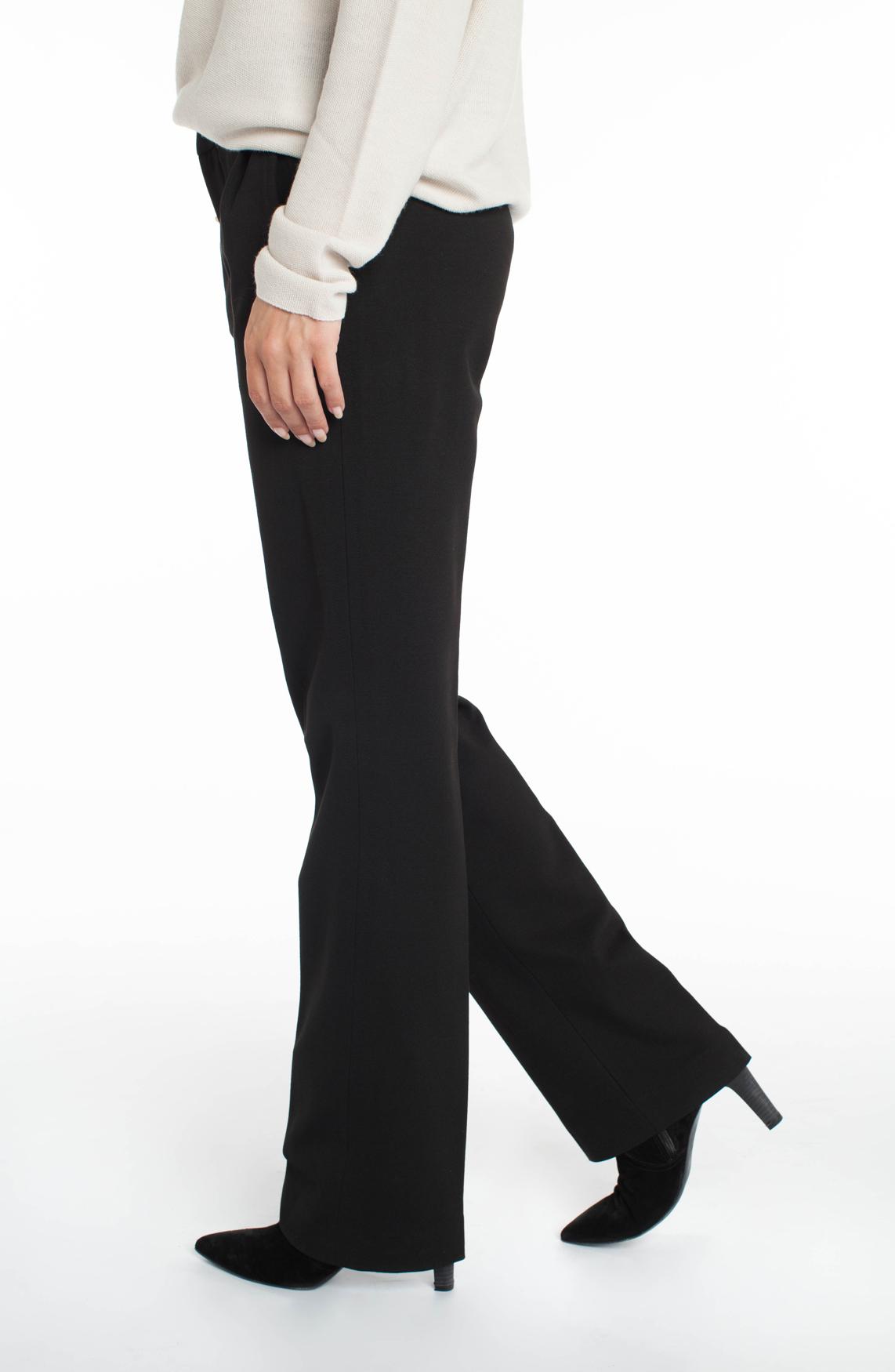 Cambio Dames Malice wijde pantalon zwart