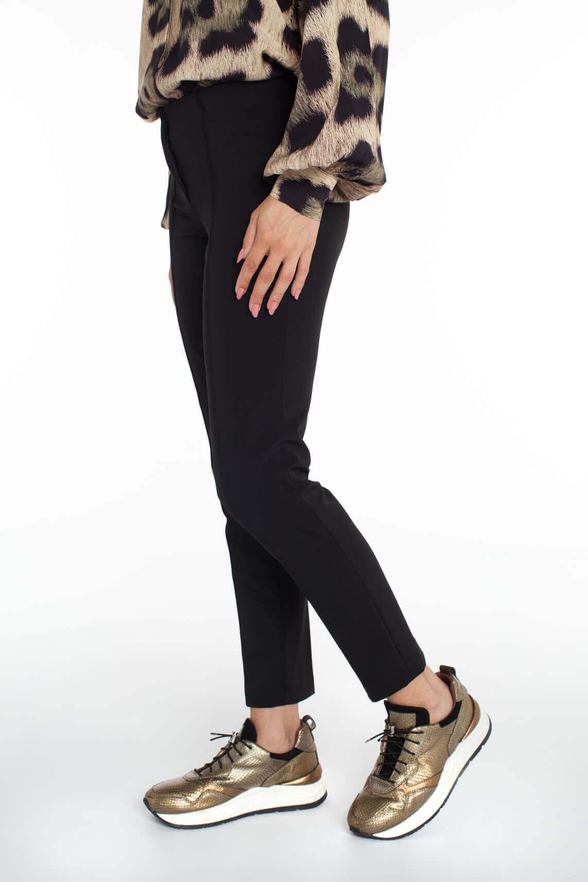 Cambio Dames Pantalon zwart