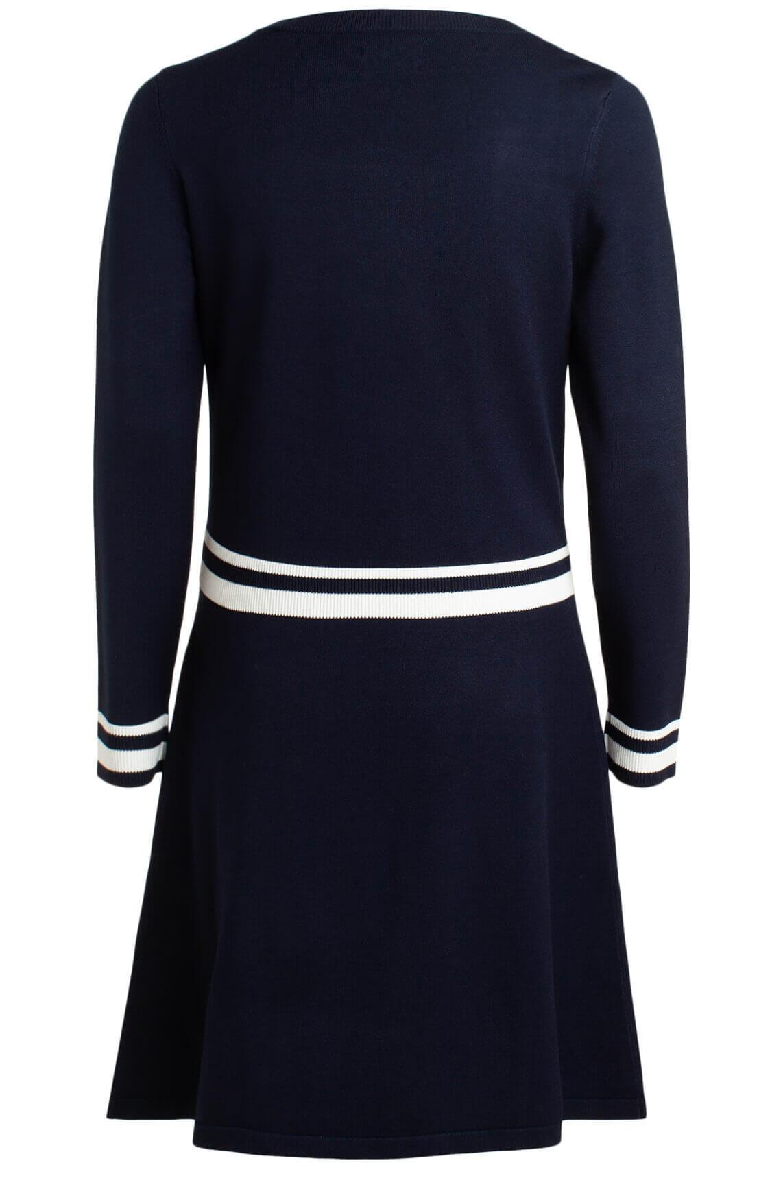 Marc O'Polo Dames Gebreide A-lijn jurk Blauw