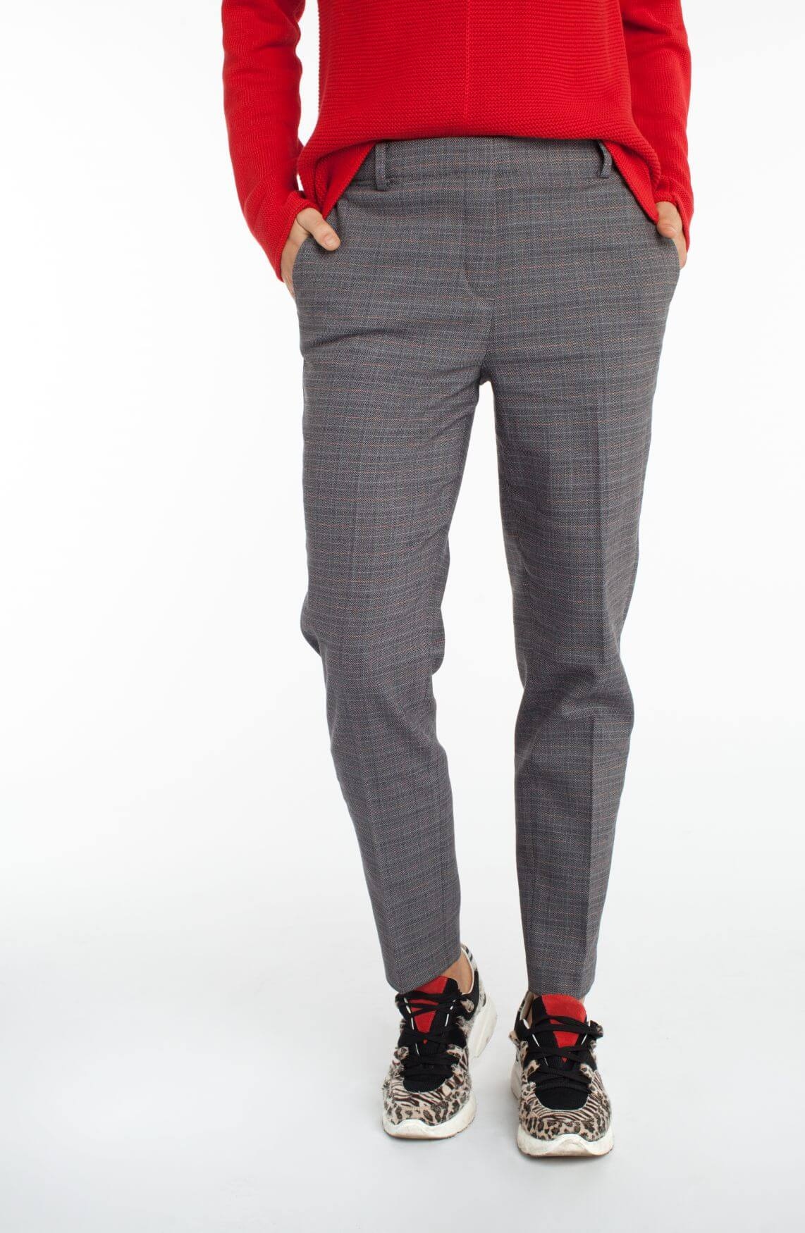 Marc O'Polo Dames Jogpantalon Grijs