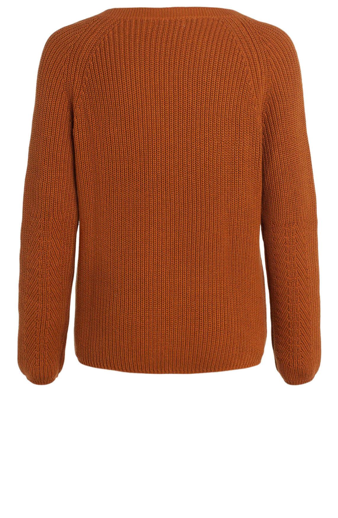Anna Dames Gebreide pullover Bruin