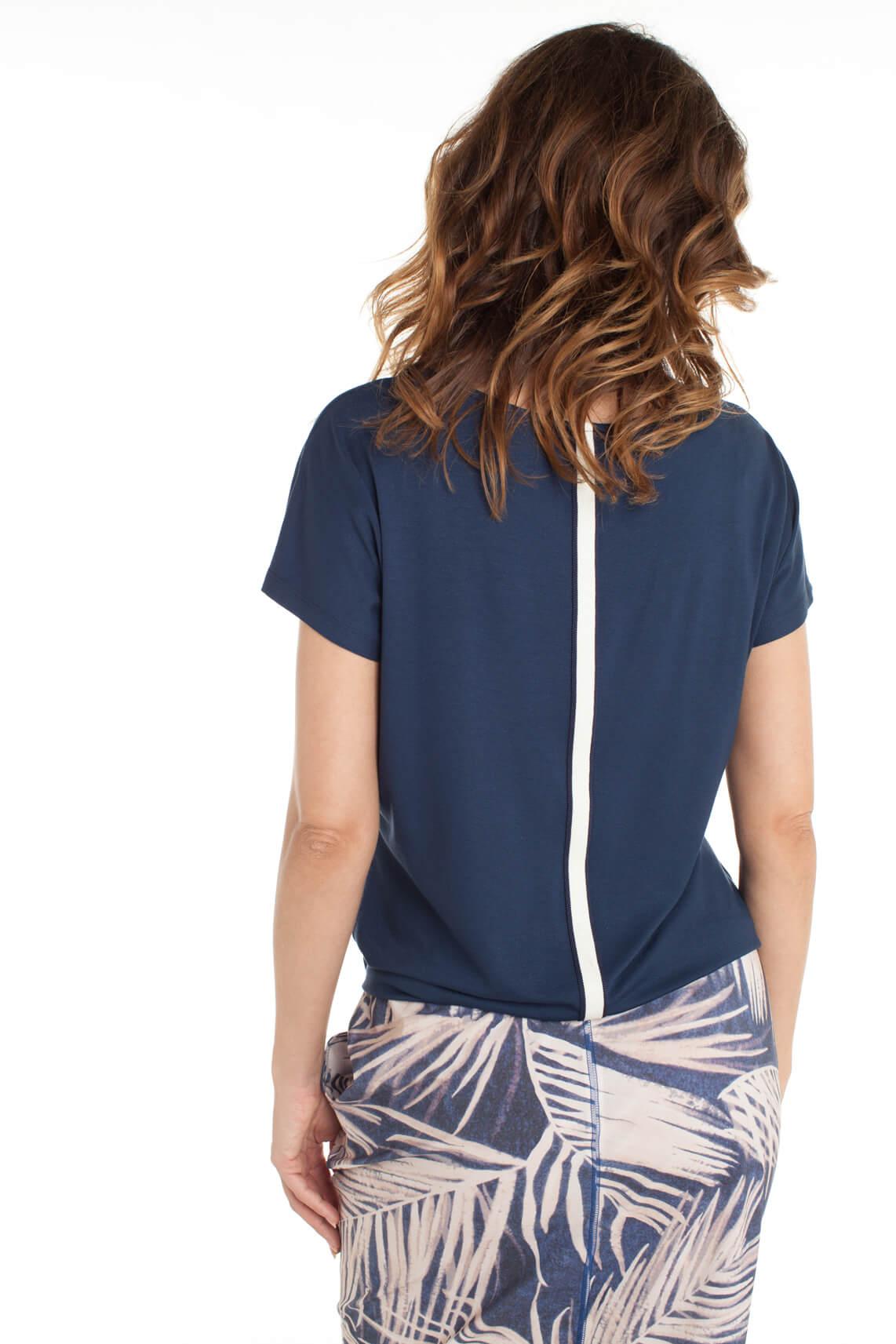 Anna Dames Shirt met bies Blauw