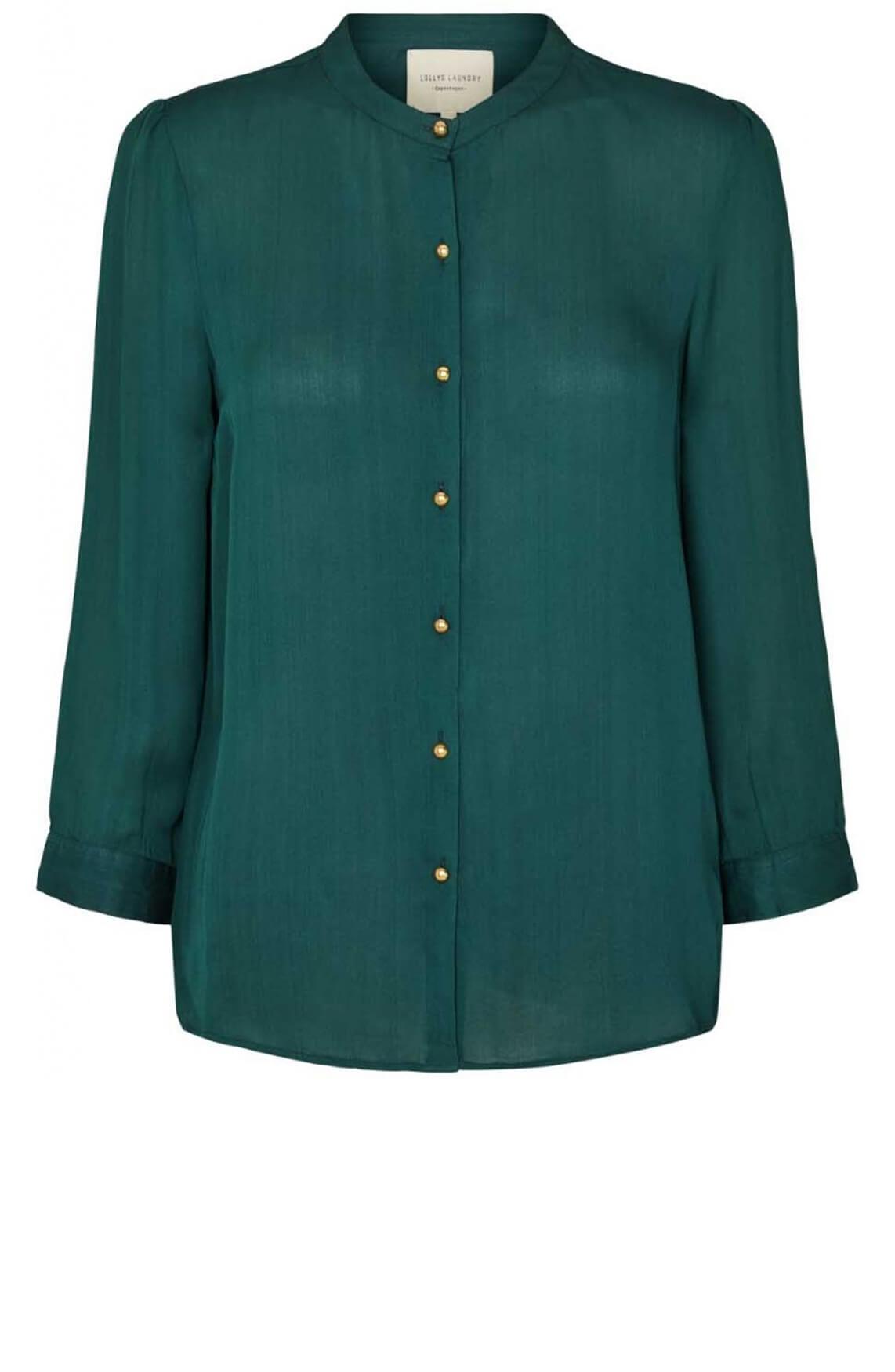 Lollys Laundry Dames Amalie blouse groen
