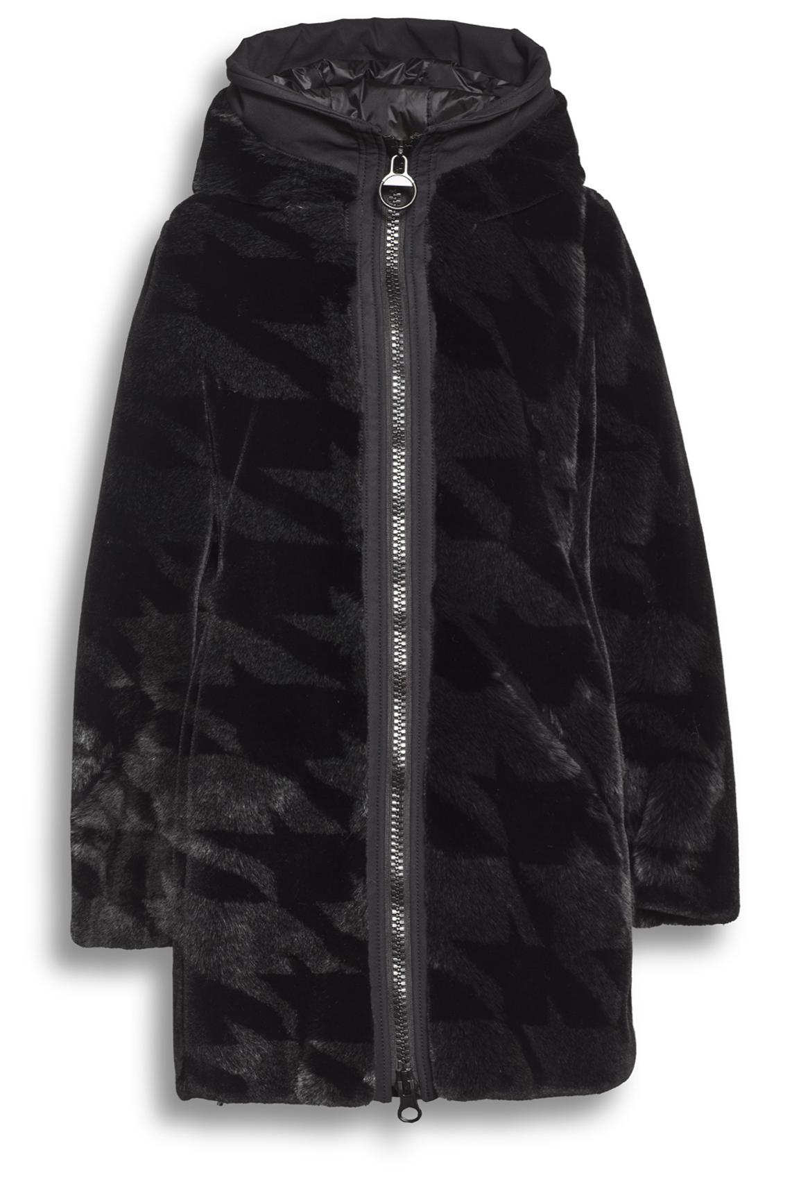 Creenstone jas met fake fur details