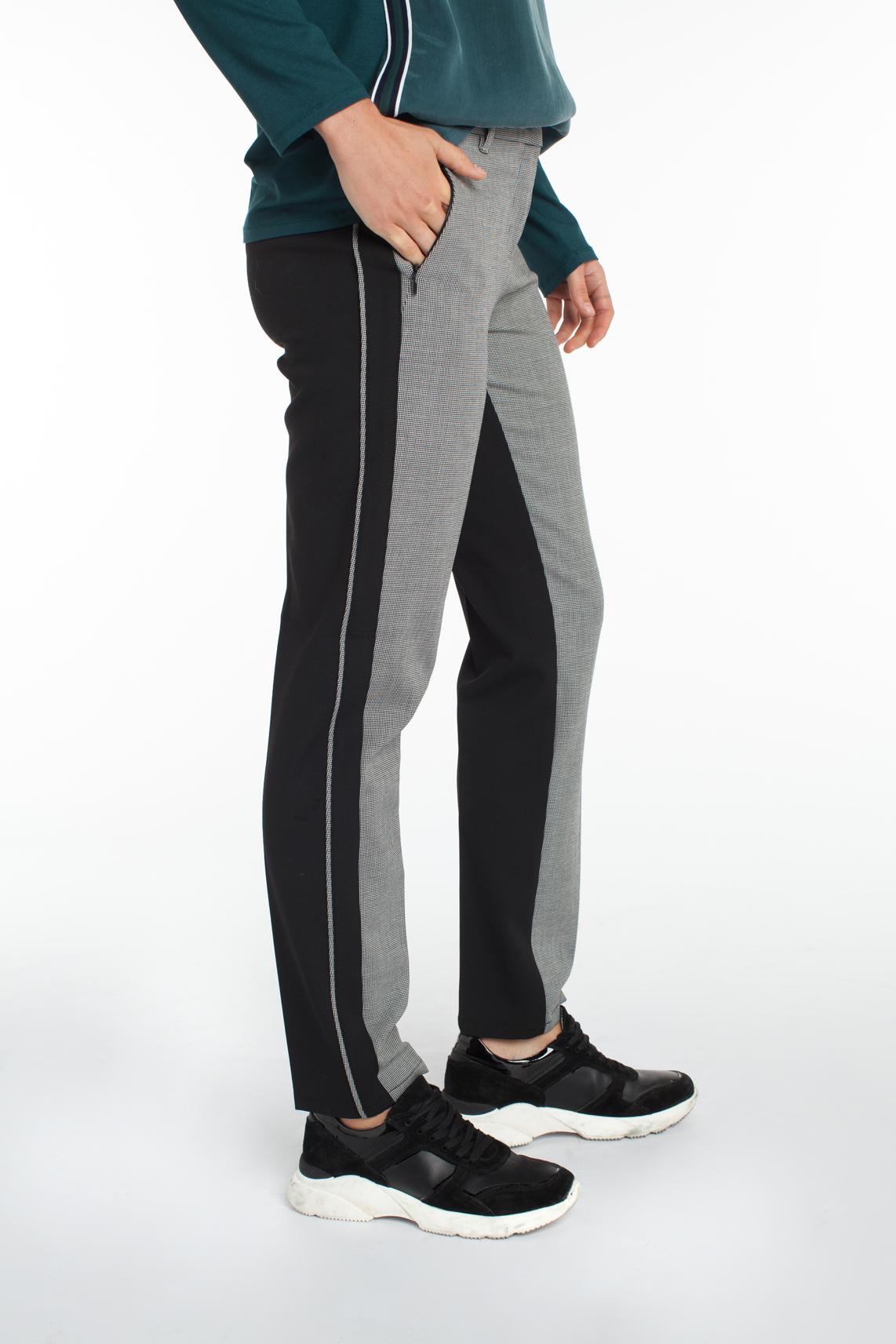 Rosner Dames Alisa contrasterende broek zwart