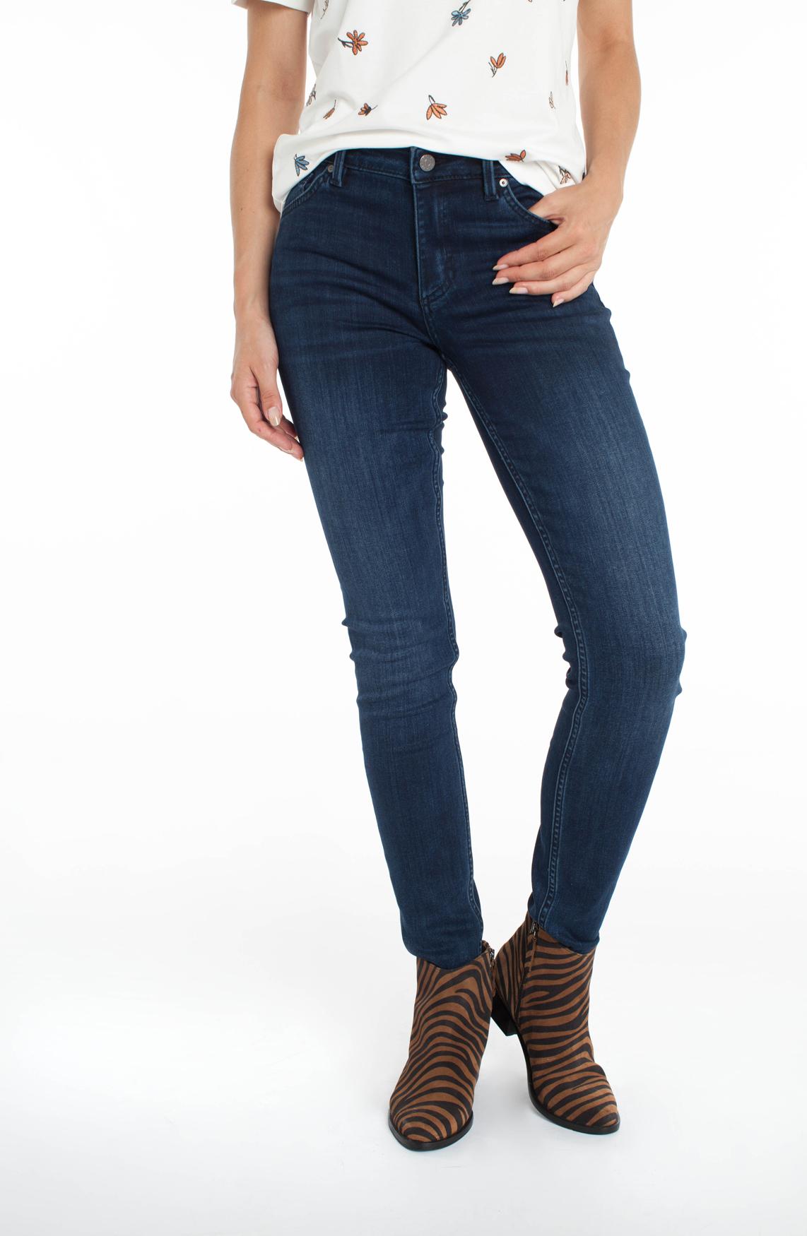 Rosner Dames Antonia mid-waist jeans Blauw