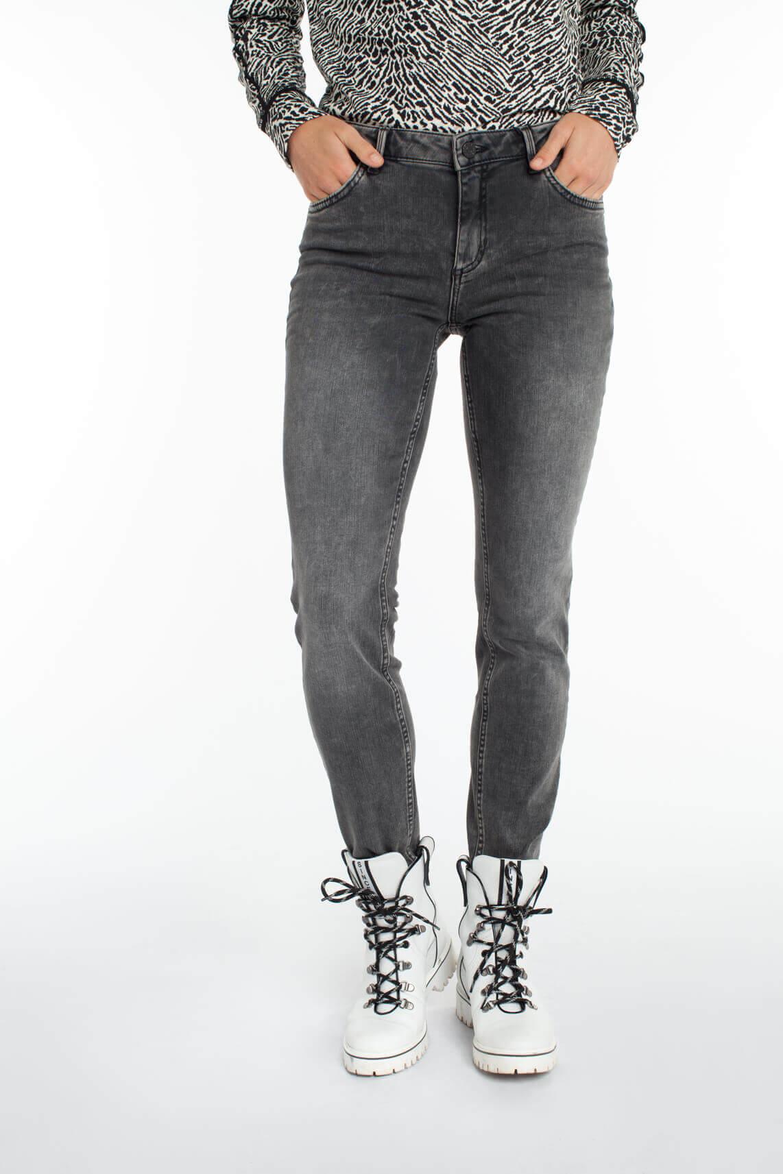 Rosner Dames Antonia garment dye skinny jeans Grijs