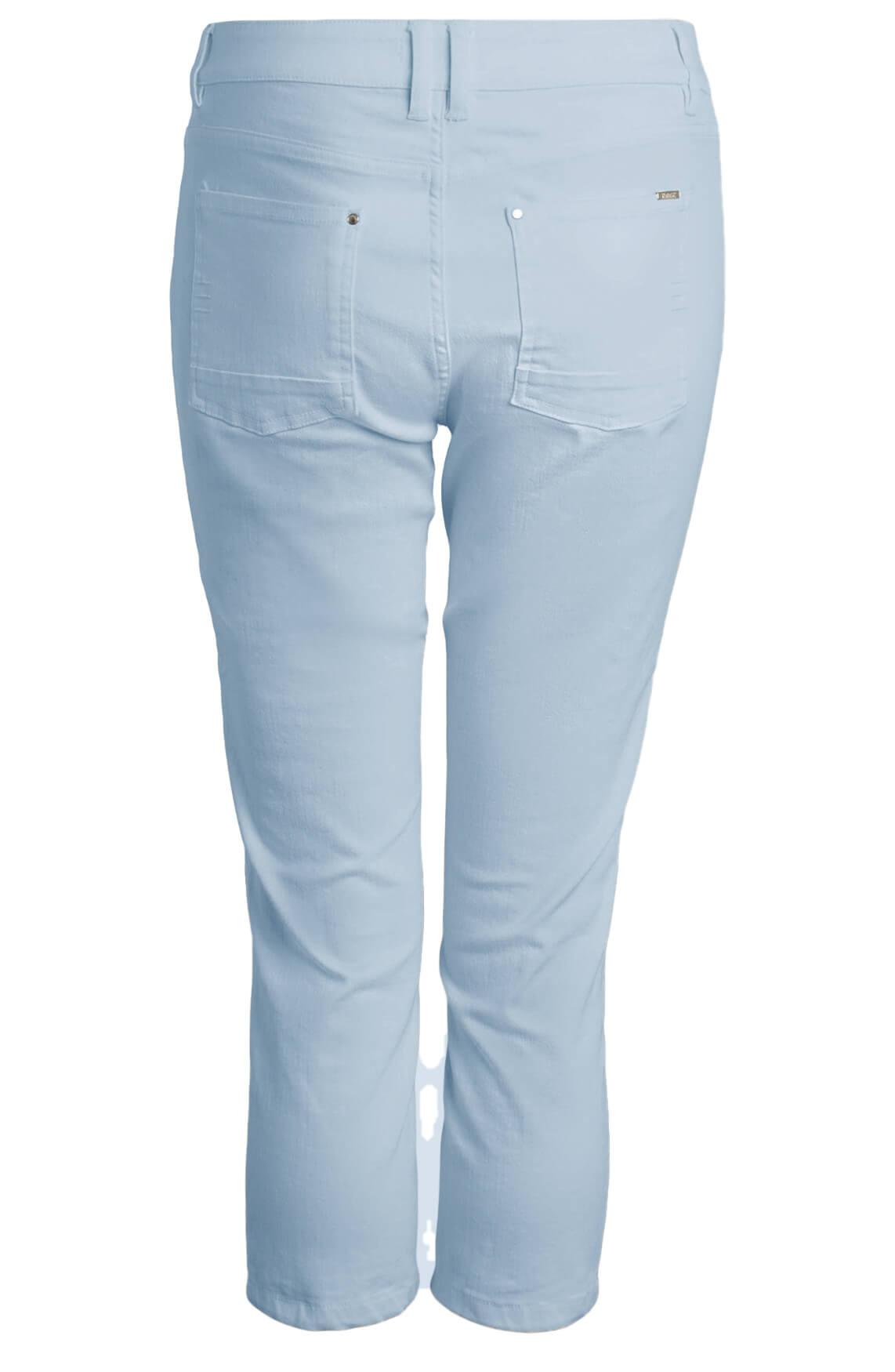 Anna Dames Capri broek Blauw