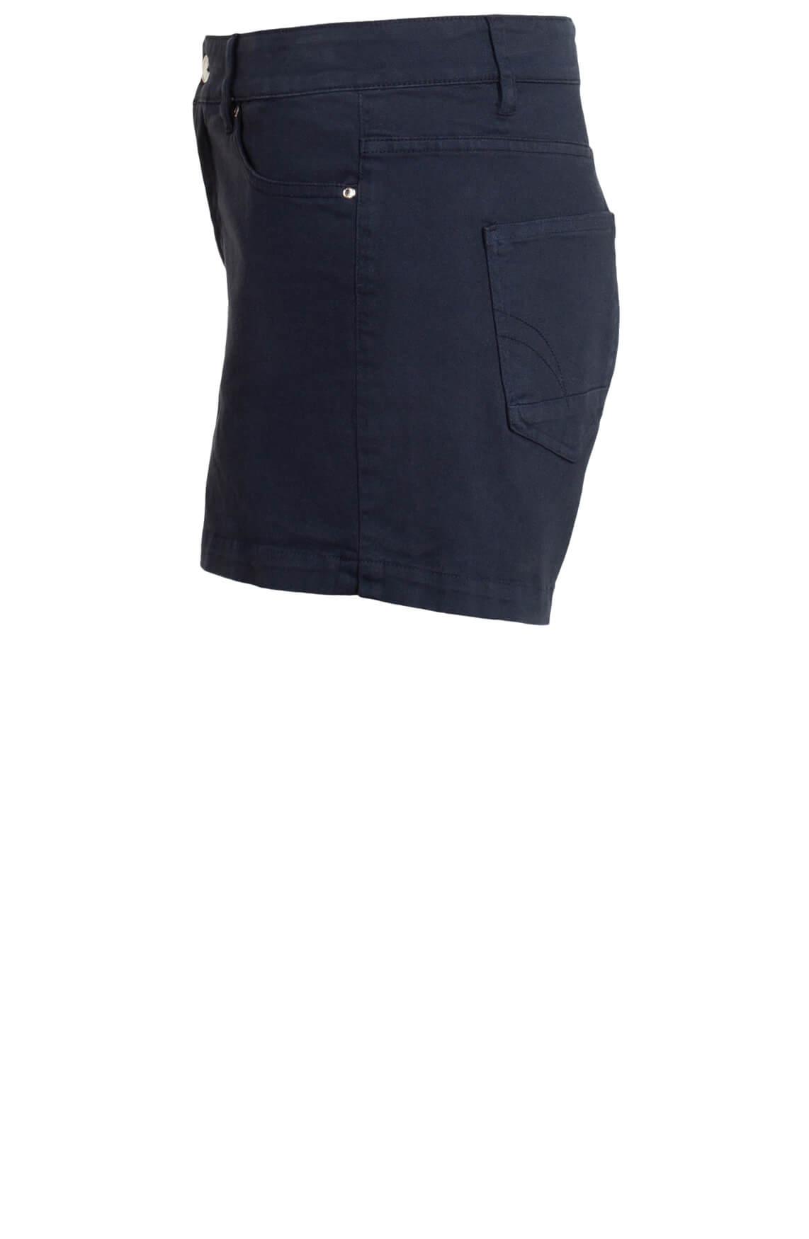 Anna Dames Short Blauw