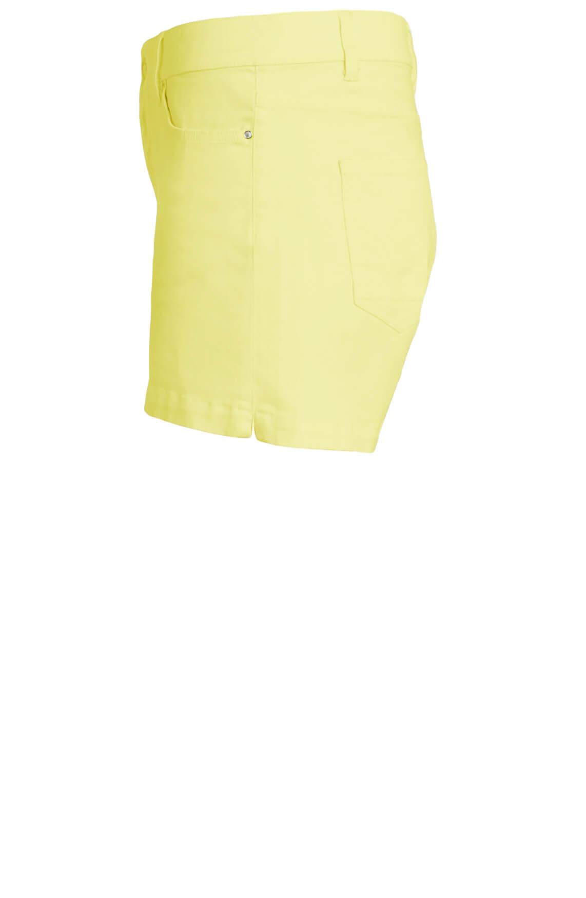 Anna Dames Short geel