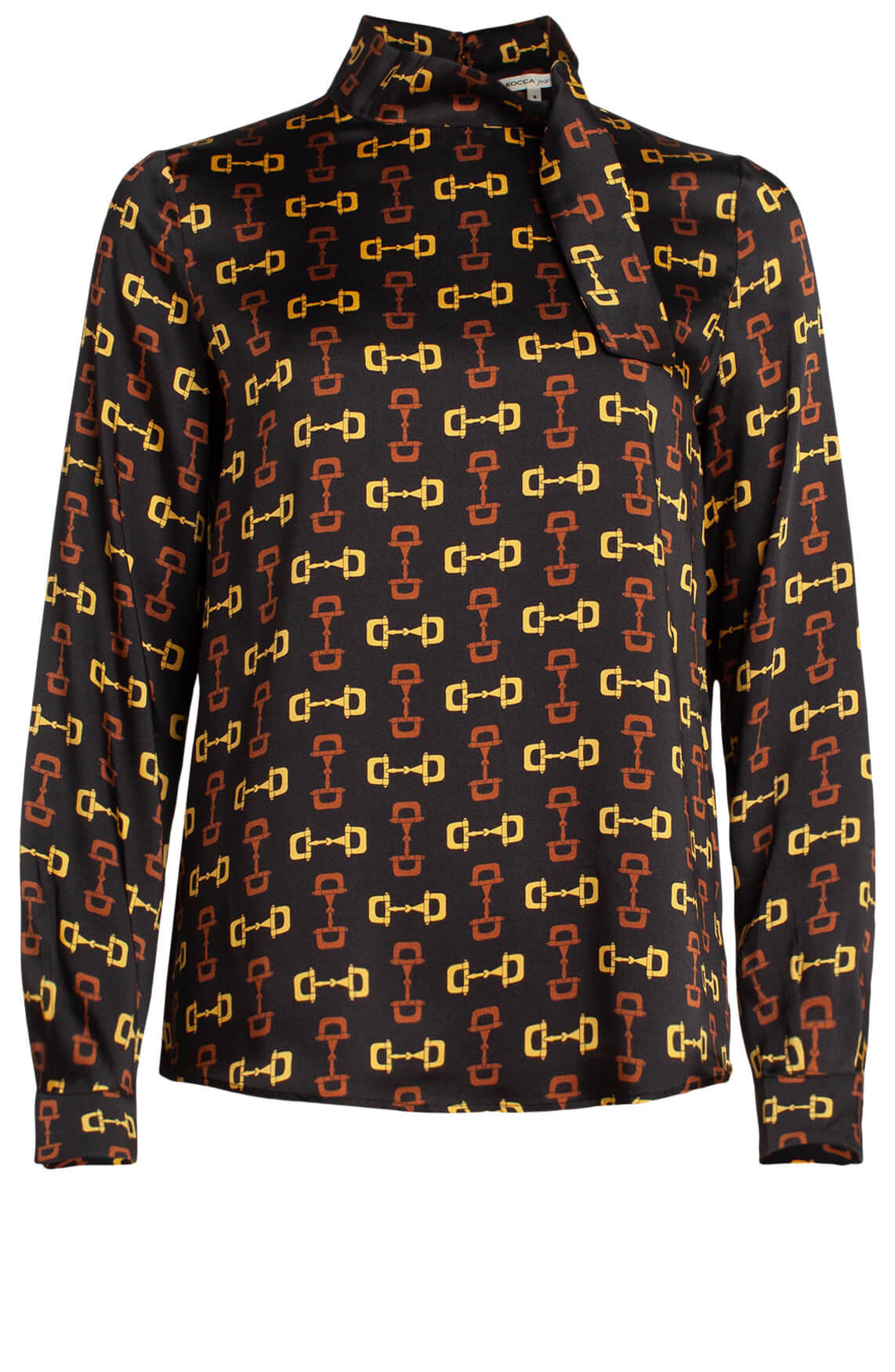 Kocca Dames Eath blouse zwart