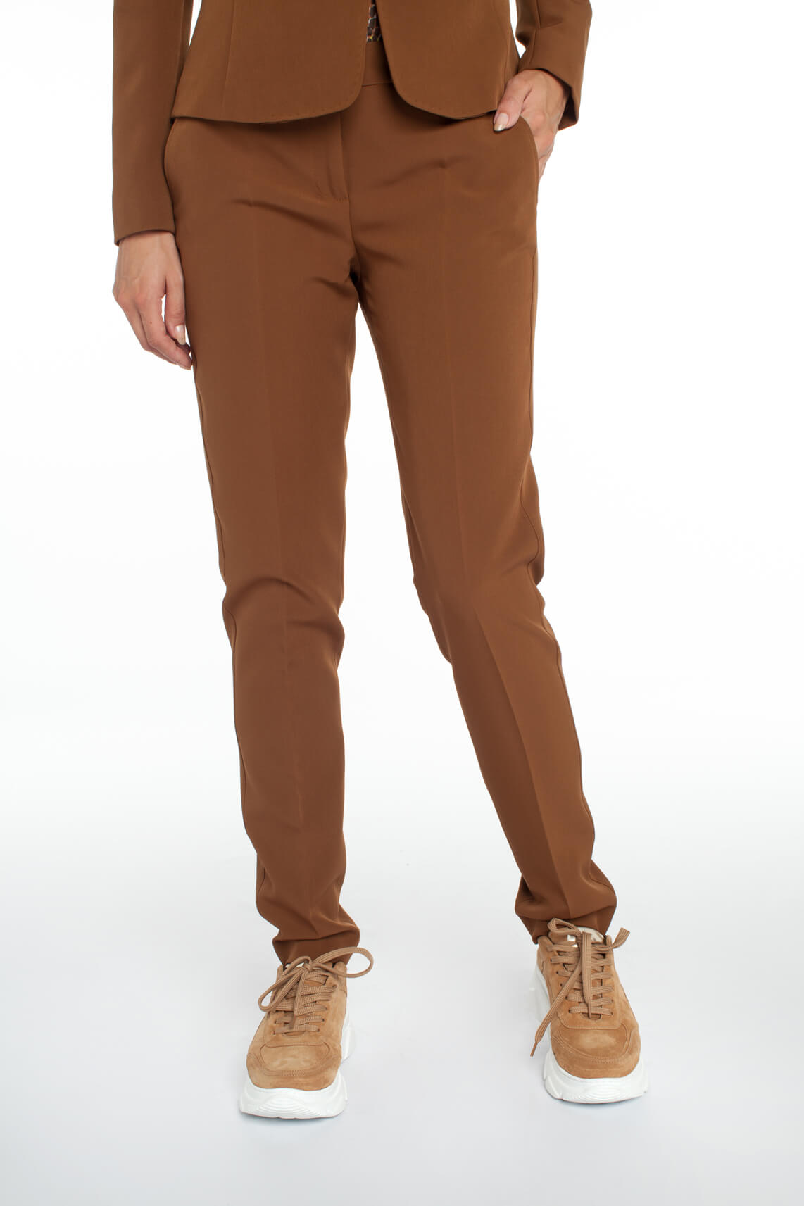 Kocca Dames Lian pantalon Bruin