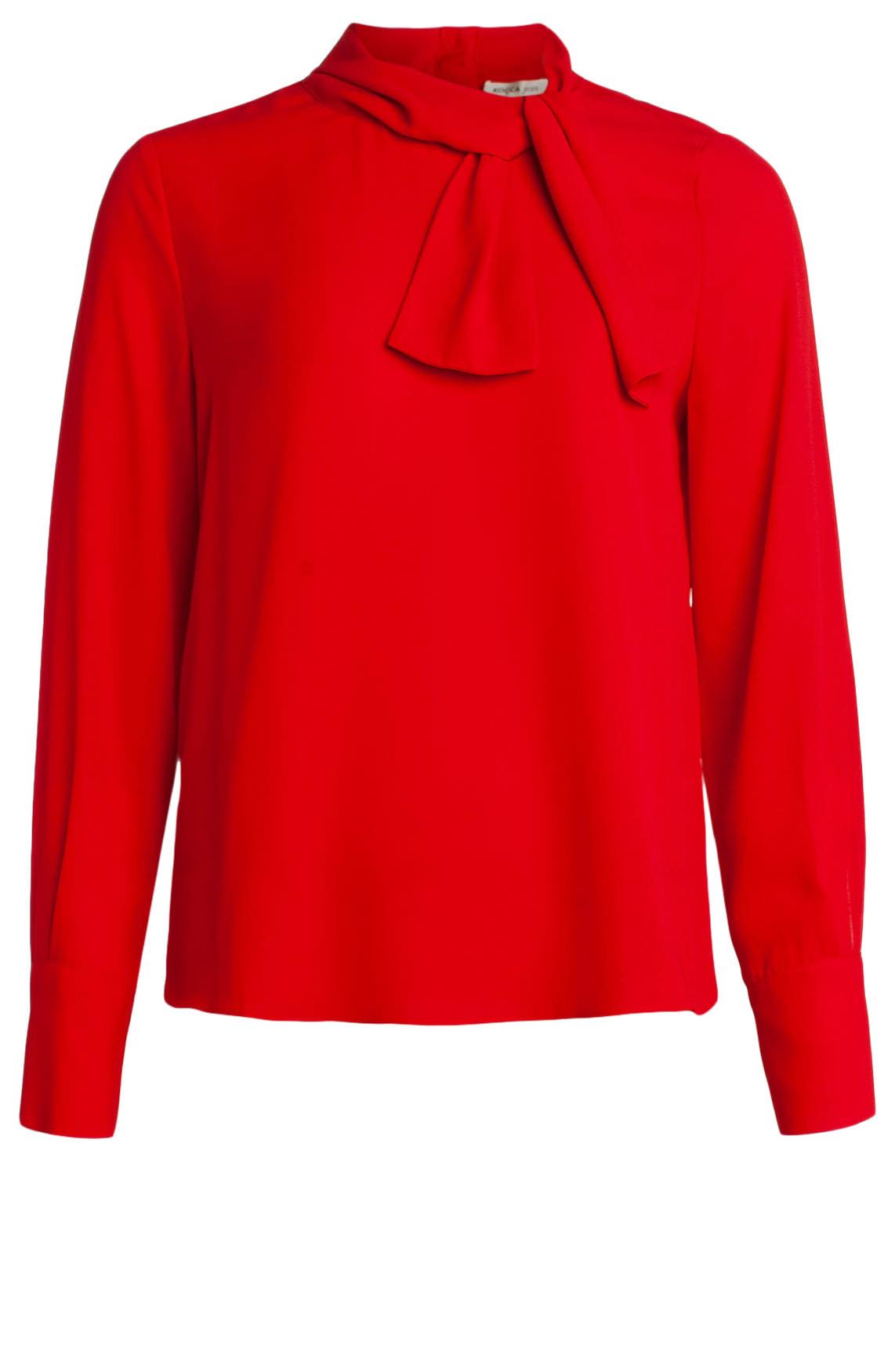 Kocca Dames Cheri blouse Rood