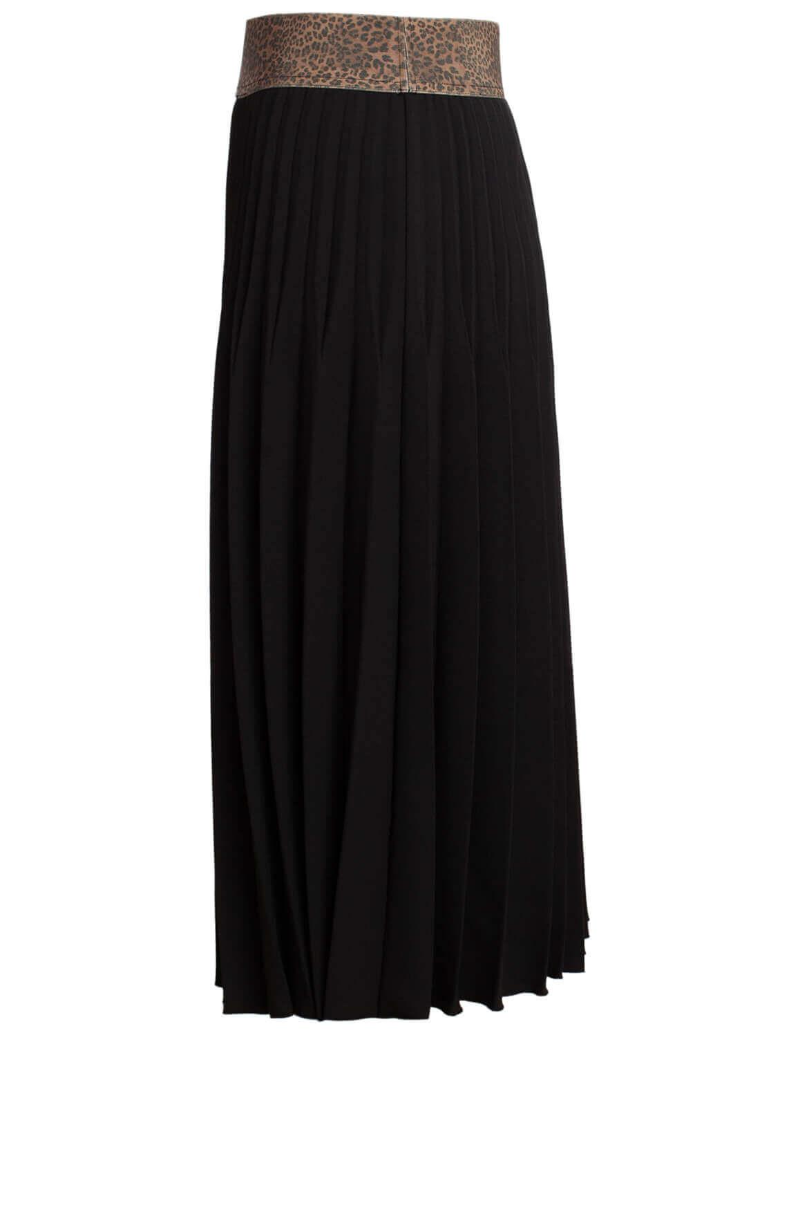 Kocca Dames Bolton plissé rok zwart