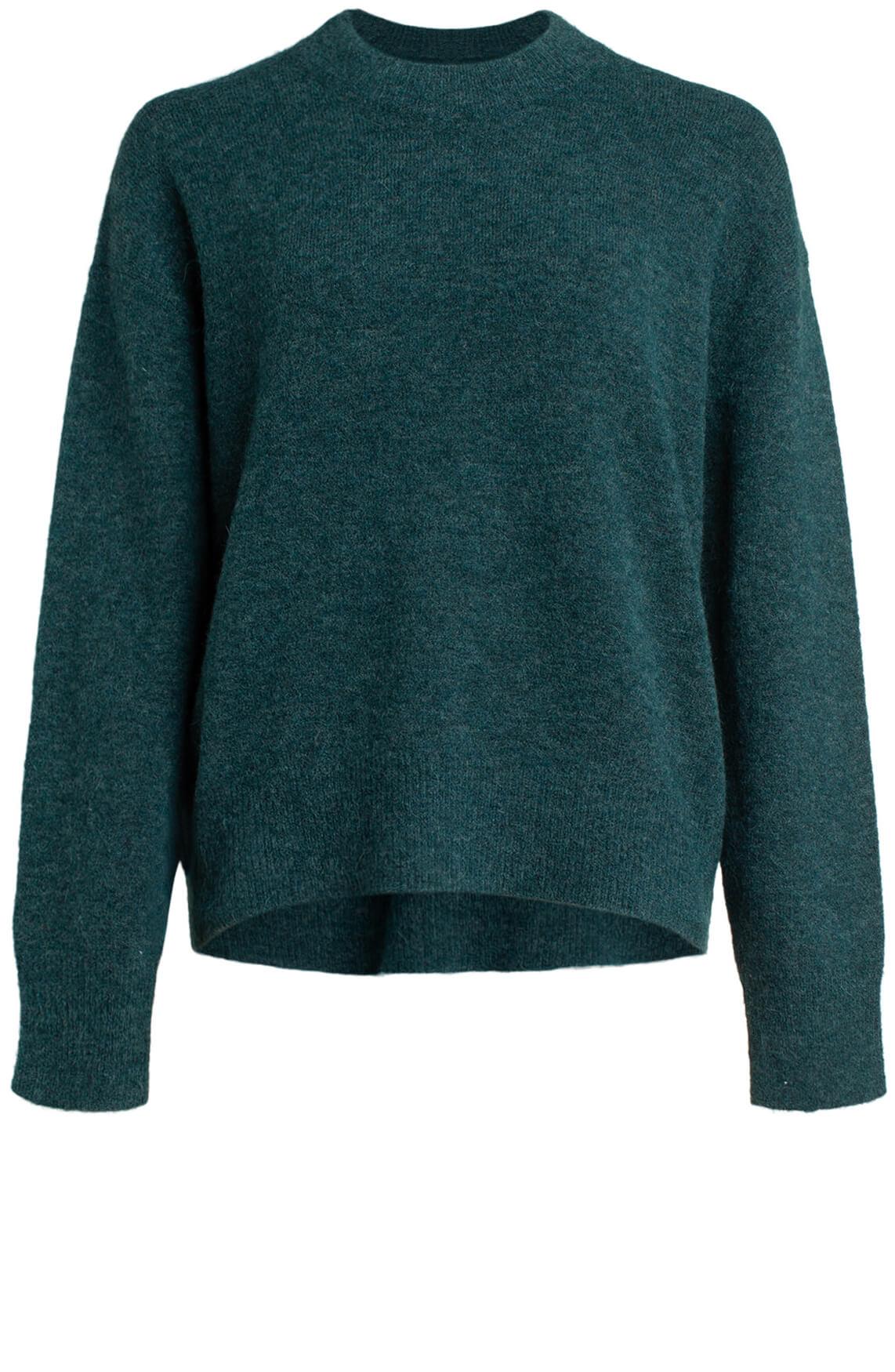 Samsoe Samsoe Dames Anour sweater groen