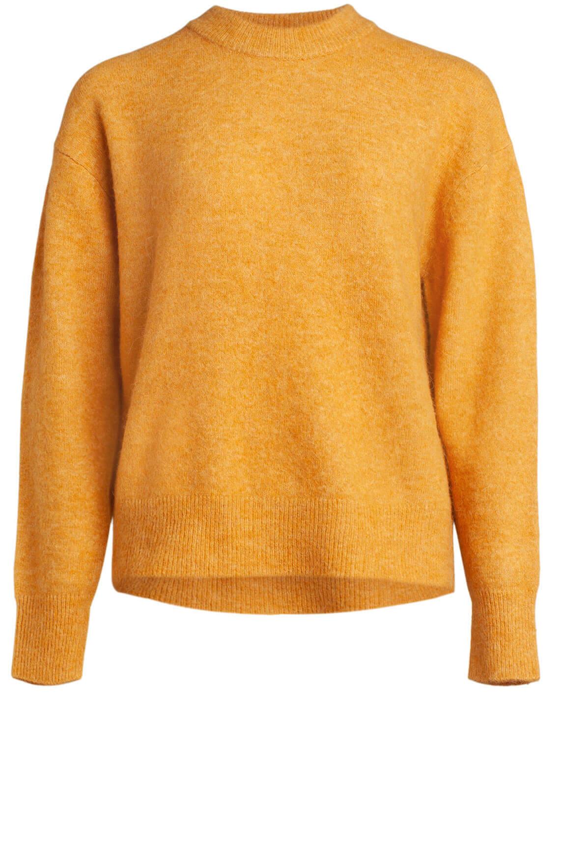 Samsoe Samsoe Dames Anour pullover geel