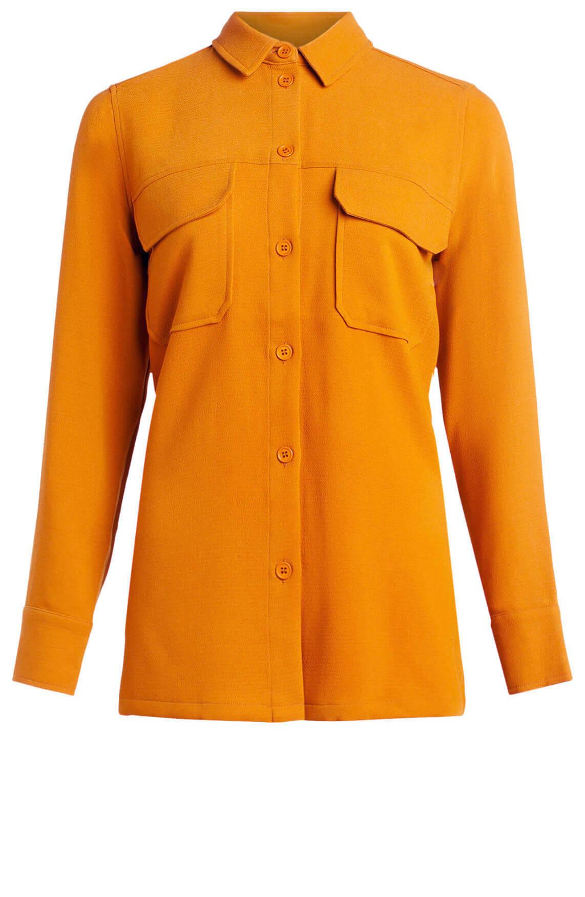 Samsoe Samsoe Dames Denise blouse Oranje
