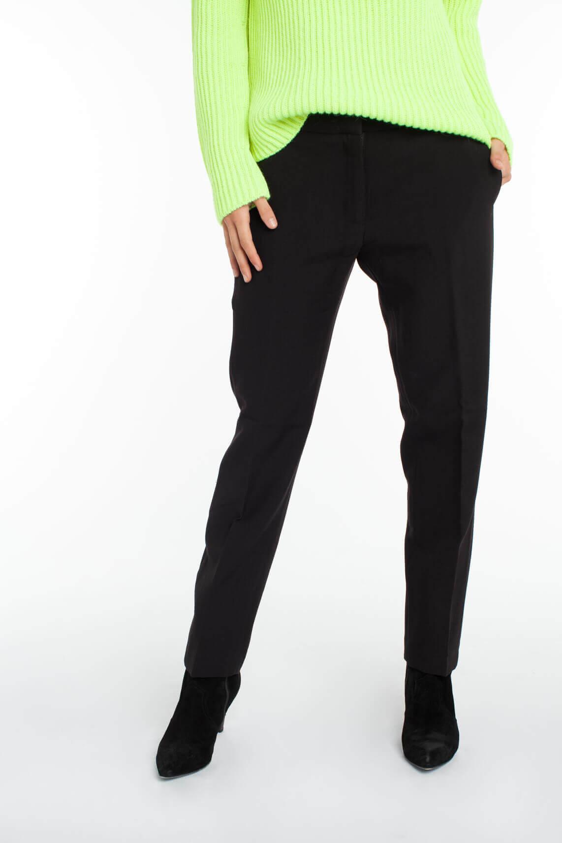 Samsoe Samsoe Dames Nell wijde broek zwart