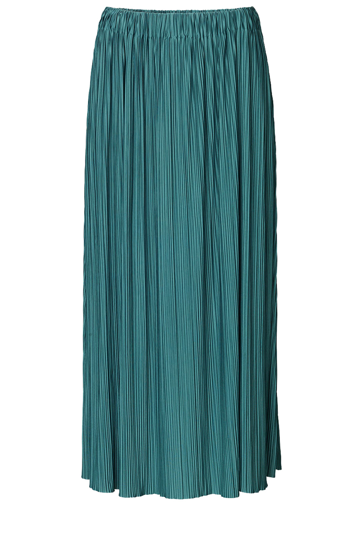 Samsoe Samsoe Dames Uma plissé rok groen