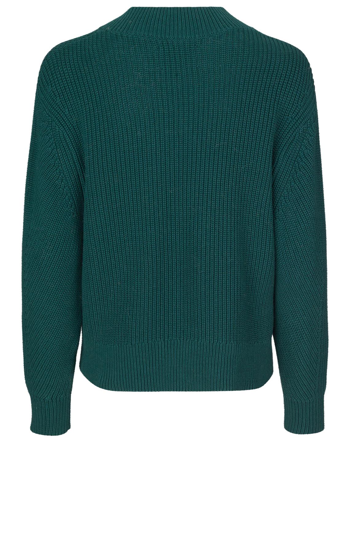 Samsoe Samsoe Dames Ari gebreide pullover groen