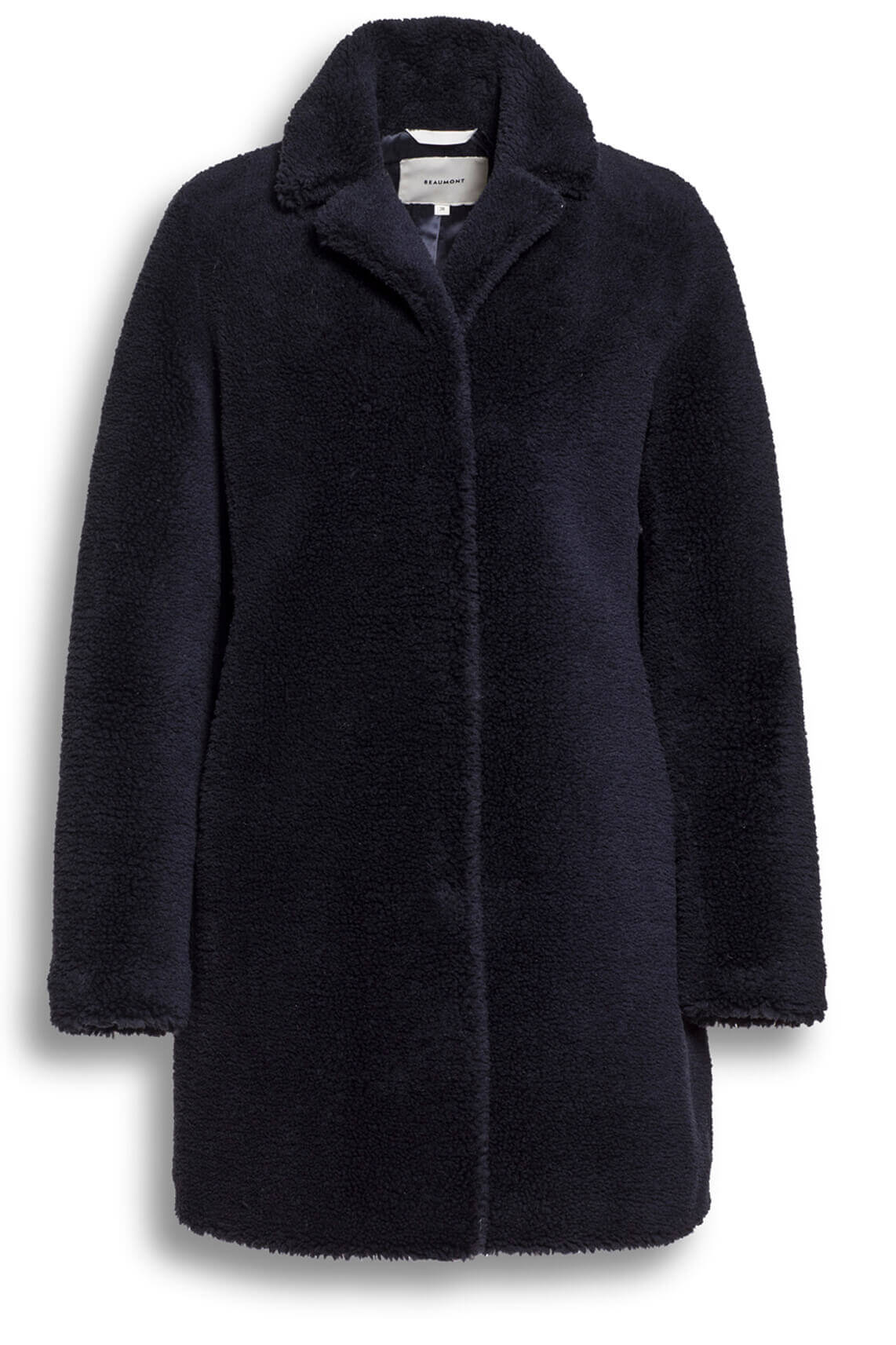 Beaumont Dames Teddy mantel Blauw