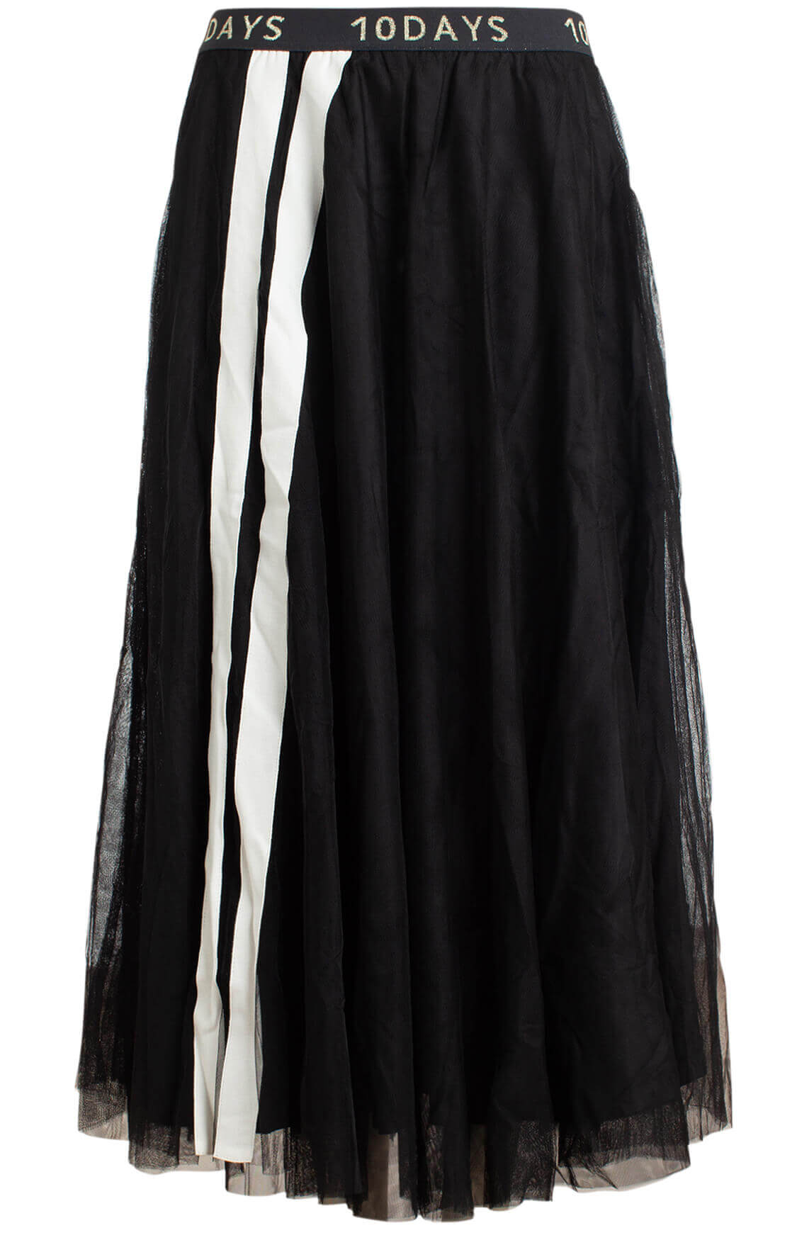 10 Days Dames Petticoat rok zwart