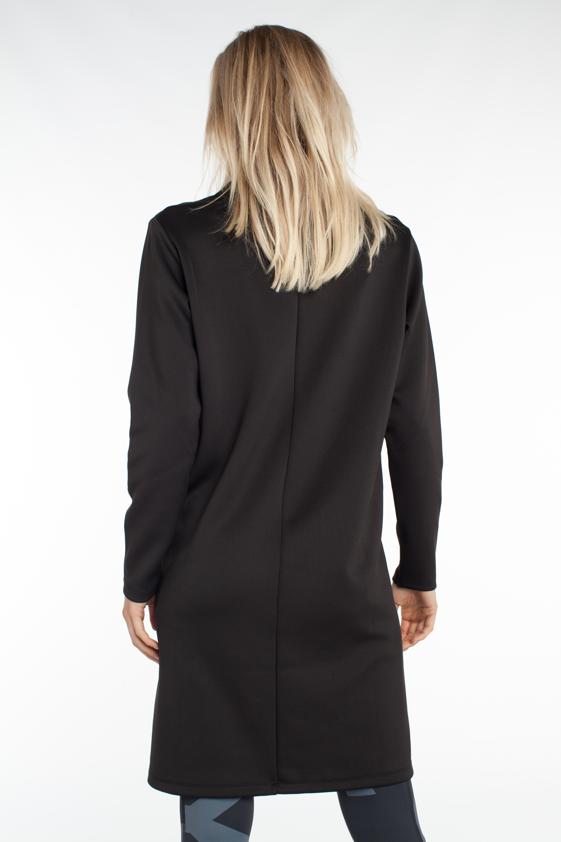 10 Days Dames Scuba smoking jurk zwart